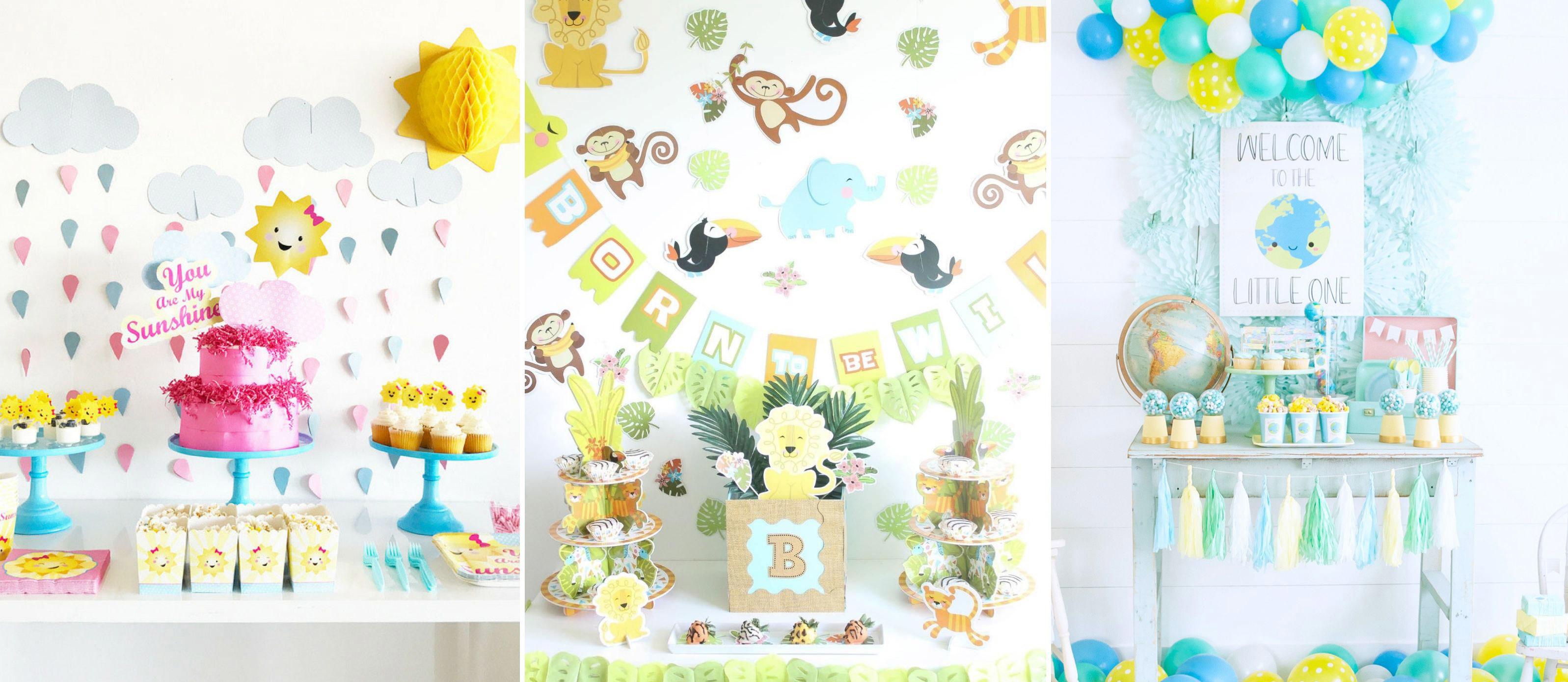 Gender Neutral Baby Shower Ideas Fun365