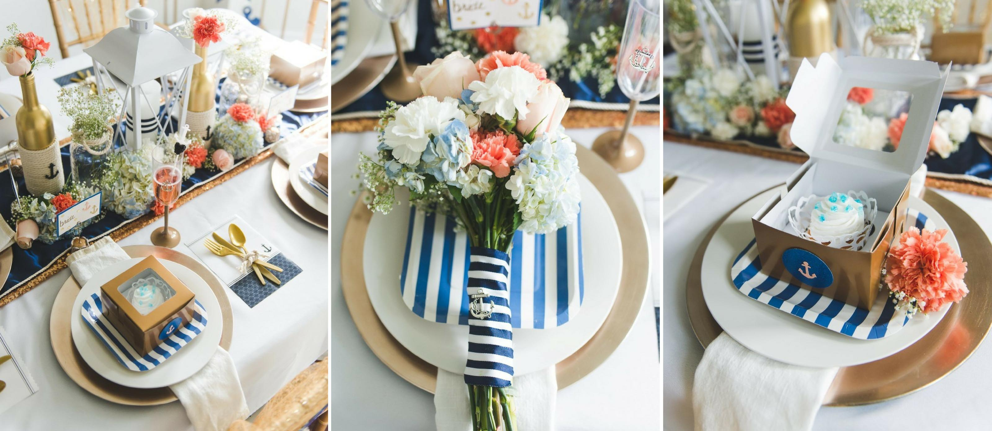 Nautical Wedding Table Fun365