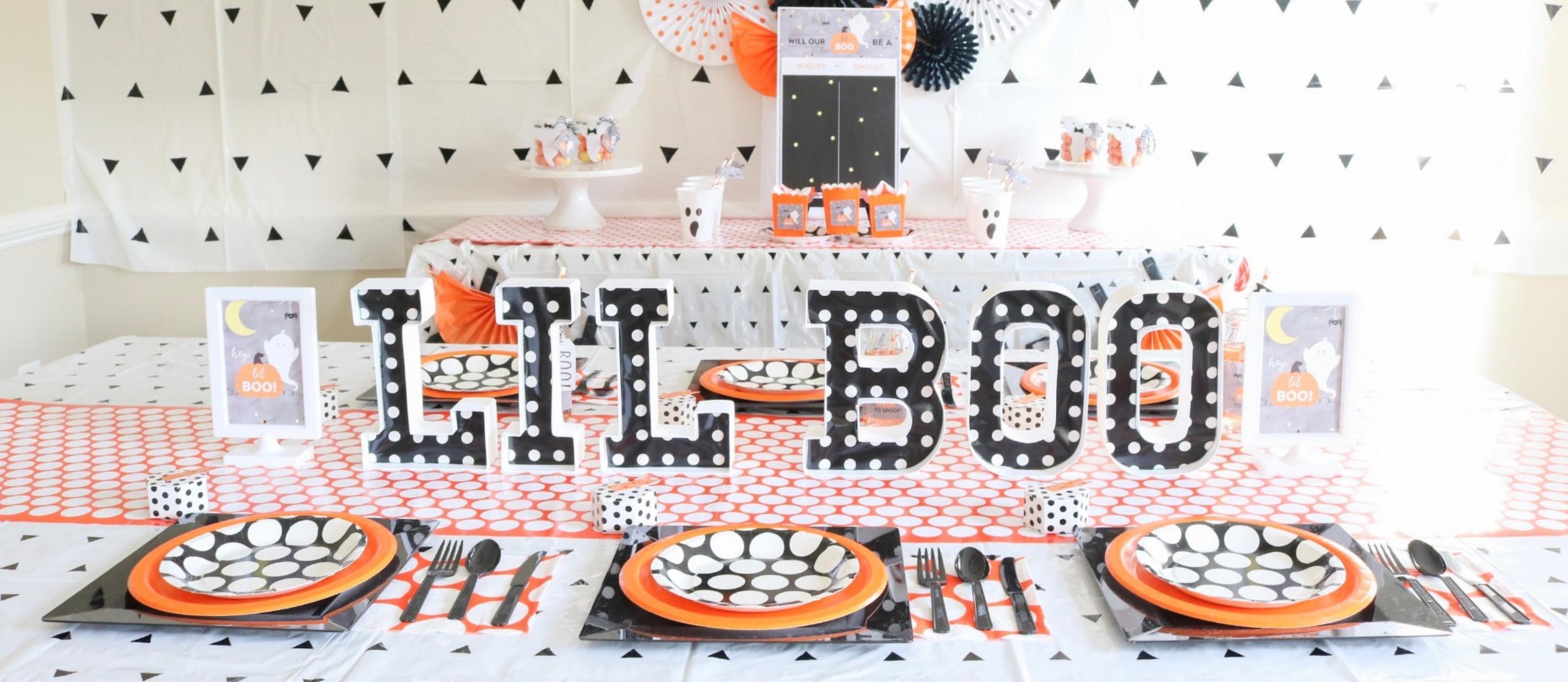 Hey Lil Boo Halloween Baby Shower Fun365