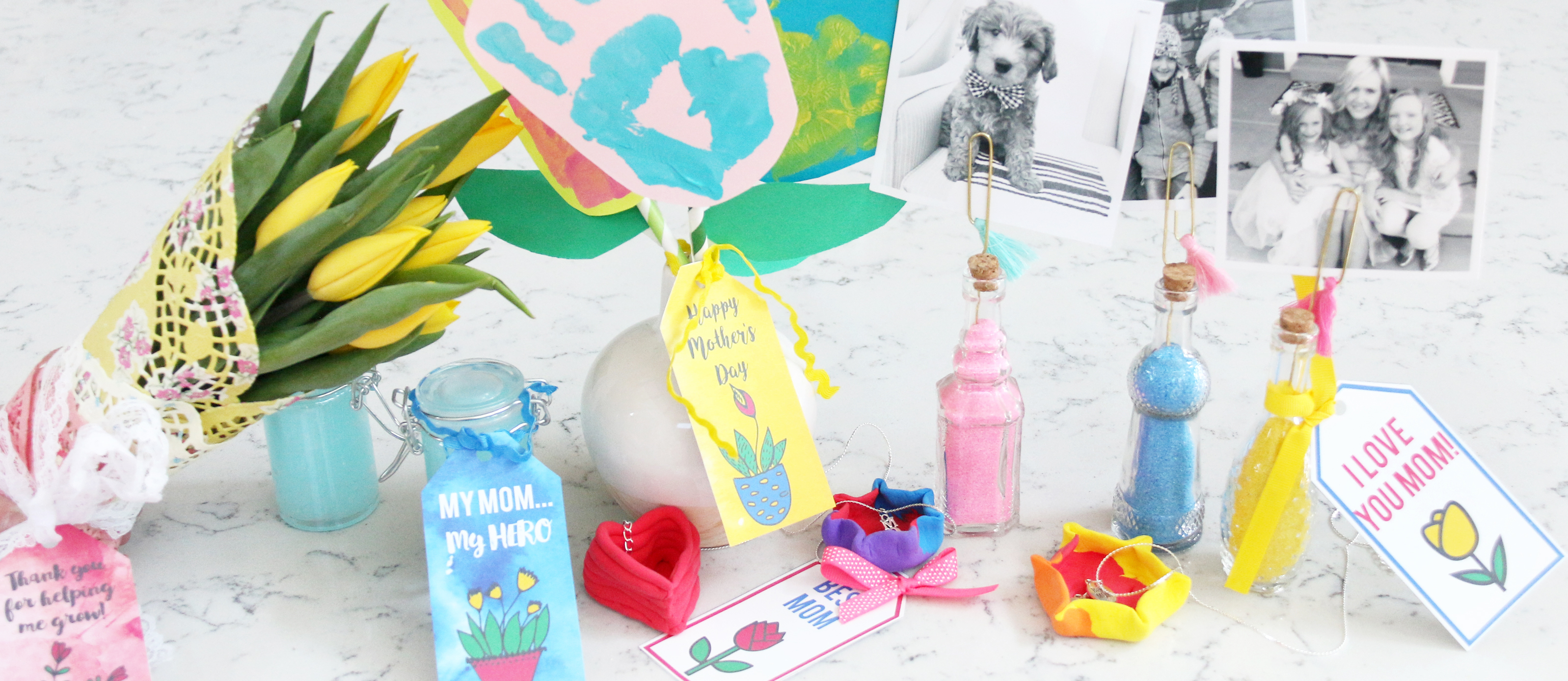 Easy Diy Mother S Day Gifts Free Printable Gift Tags Fun365