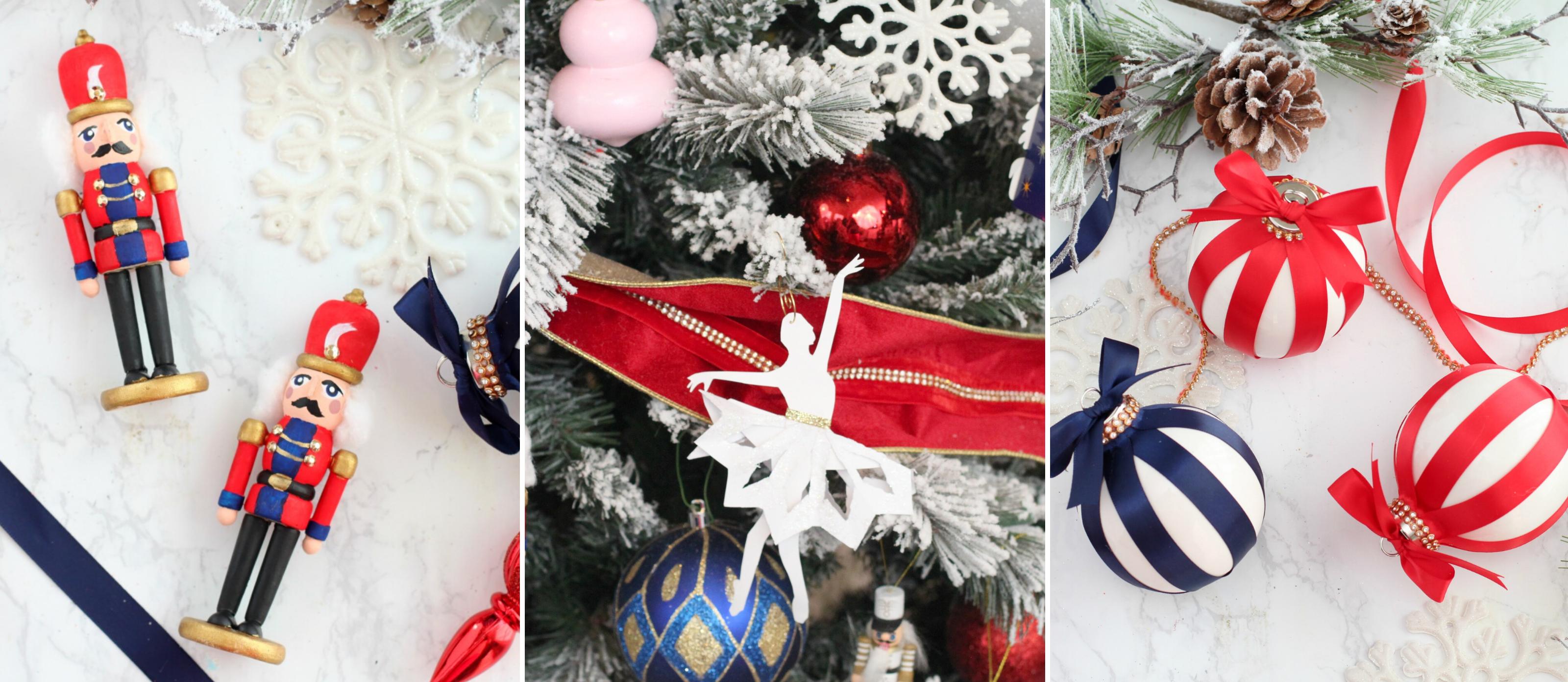 5 Nutcracker Themed Ornaments Fun365