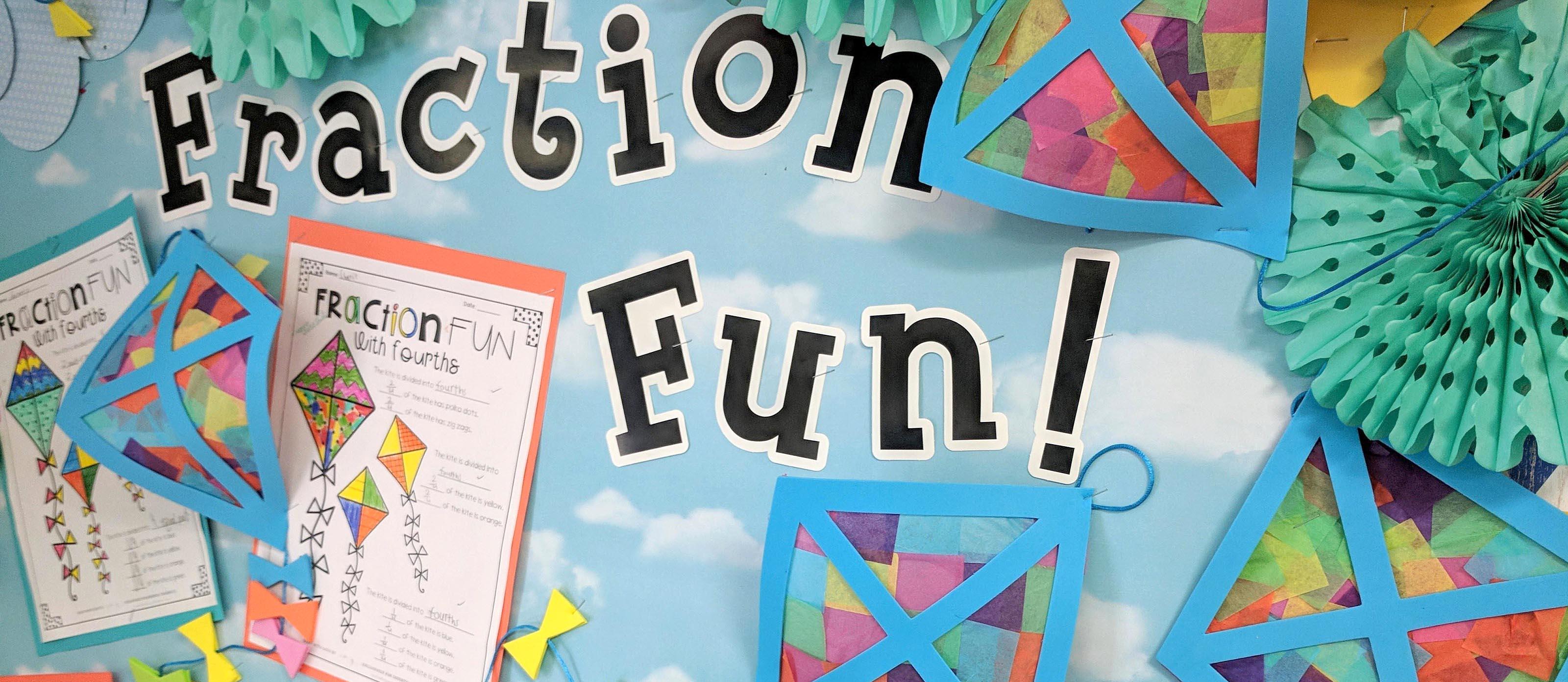 Fun Fraction Activity Using Fourths   Fun20