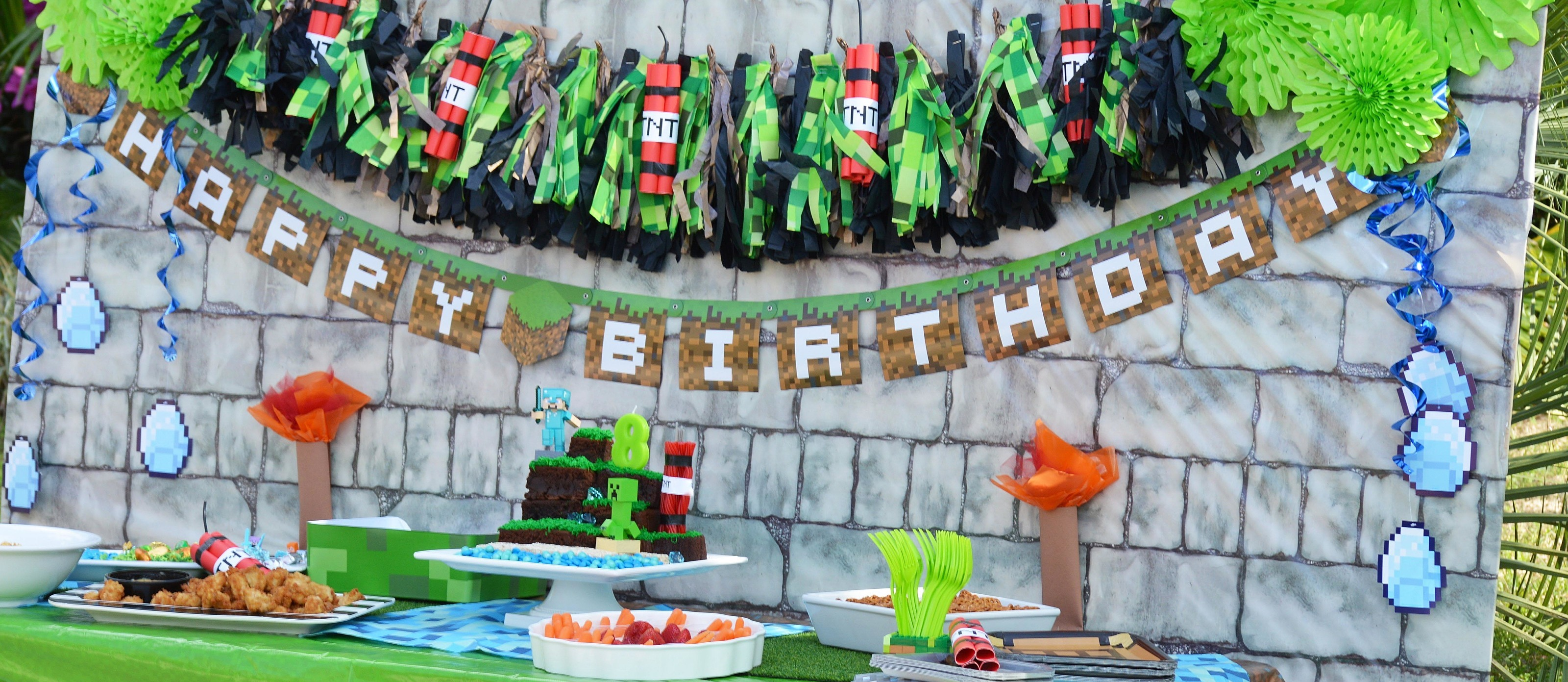 Minecraft Party Ideas | Fun365