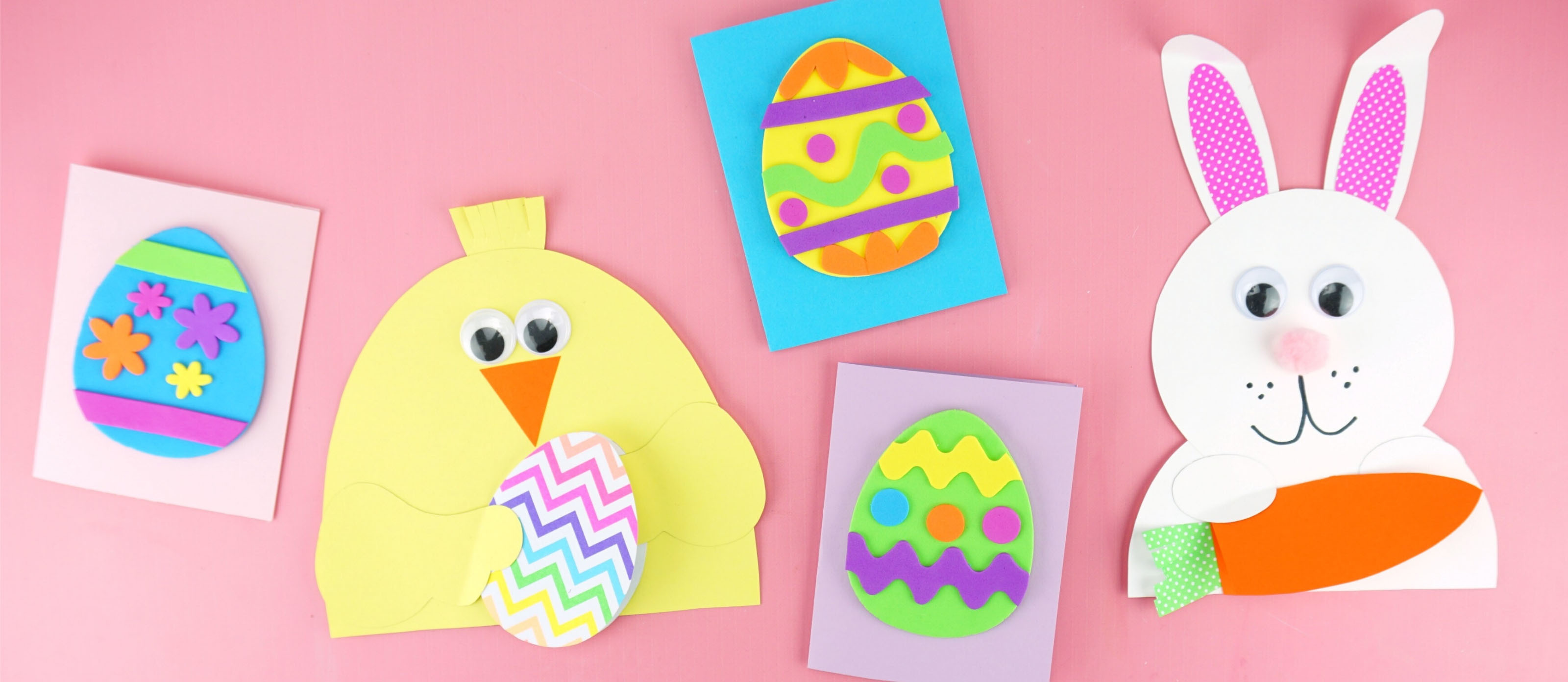 Egg Painting Stencil Set Paint Brush Easter Craft Kid Fun Bunny Party Decoration
