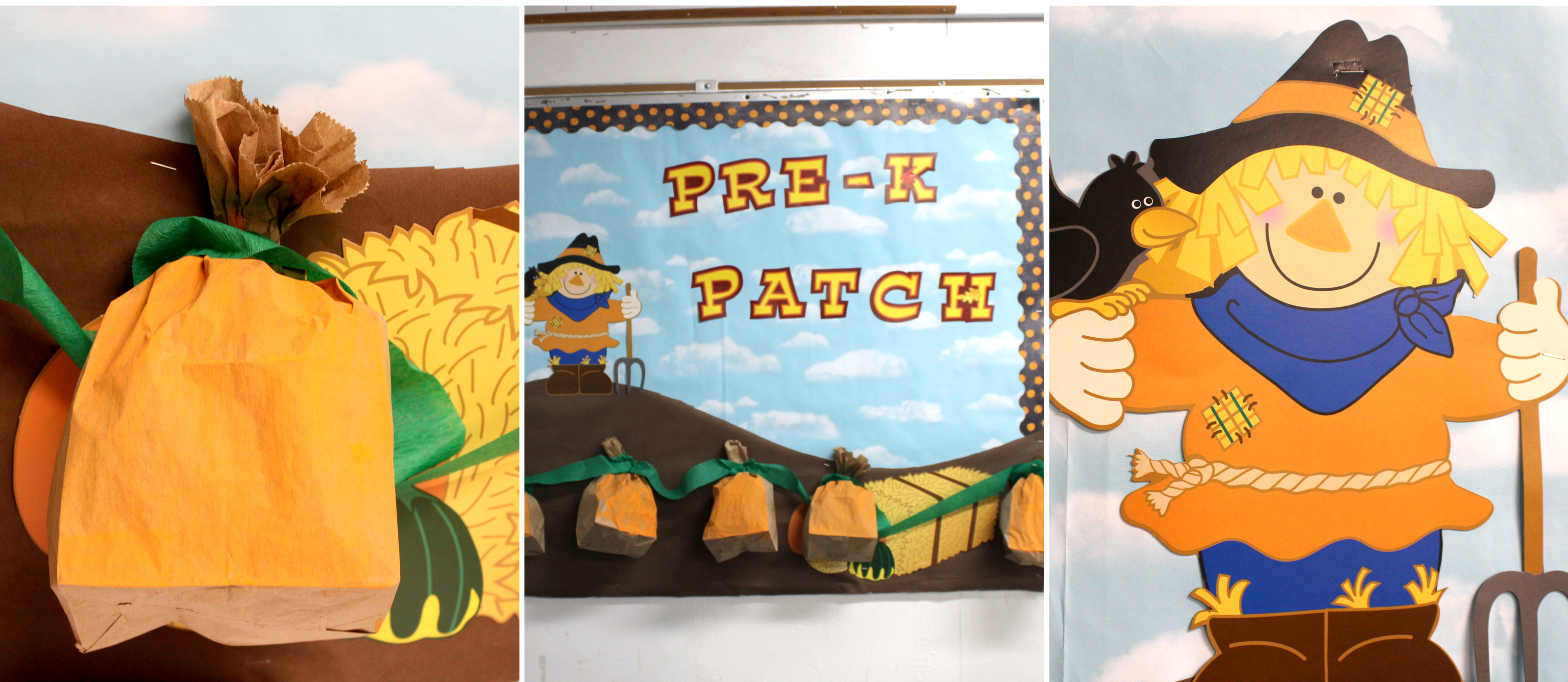 Pumpkin Patch Bulletin Board Fun365