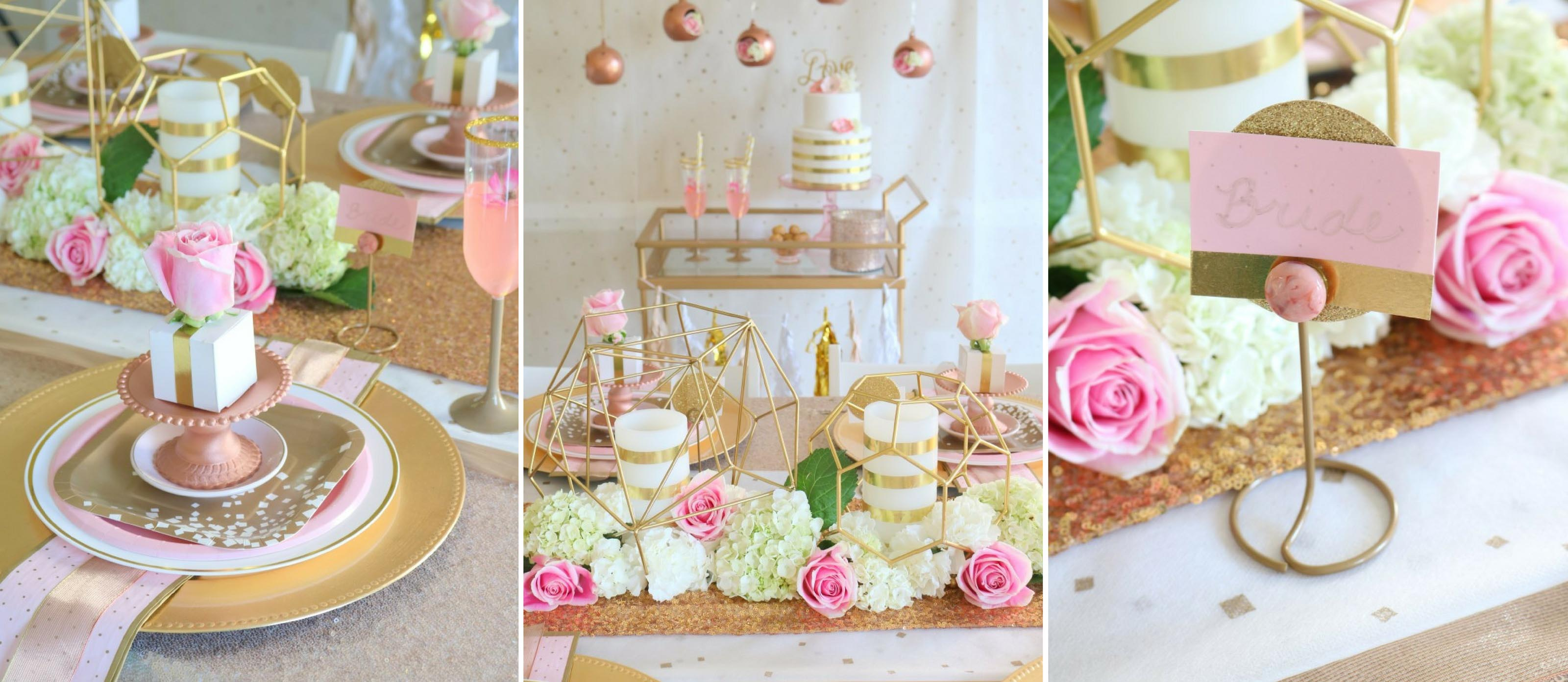 Rose Gold Wedding Fun365