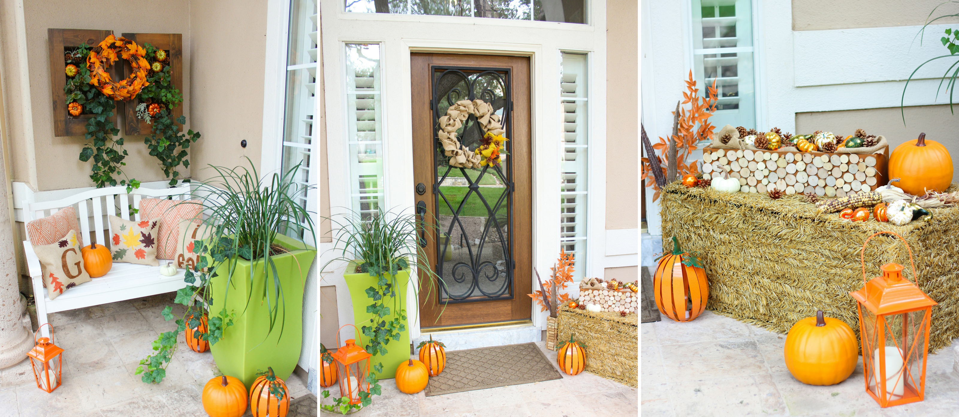 Rustic Fall Front Porch Decor Ideas Fun365