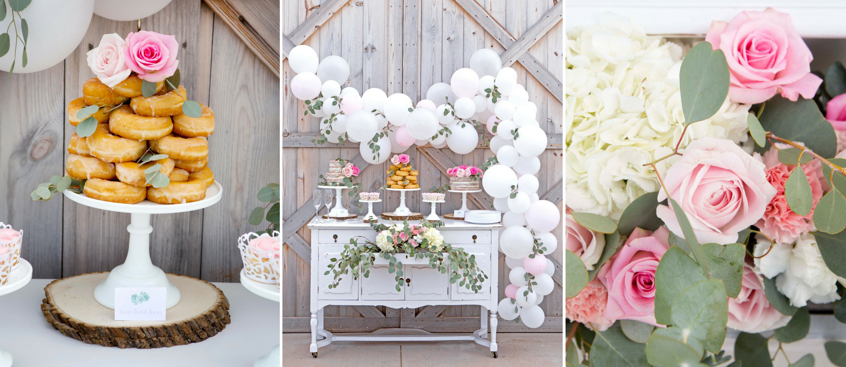 Take a look at this gorgeous Rustic Wedding Dessert Table | Fun365