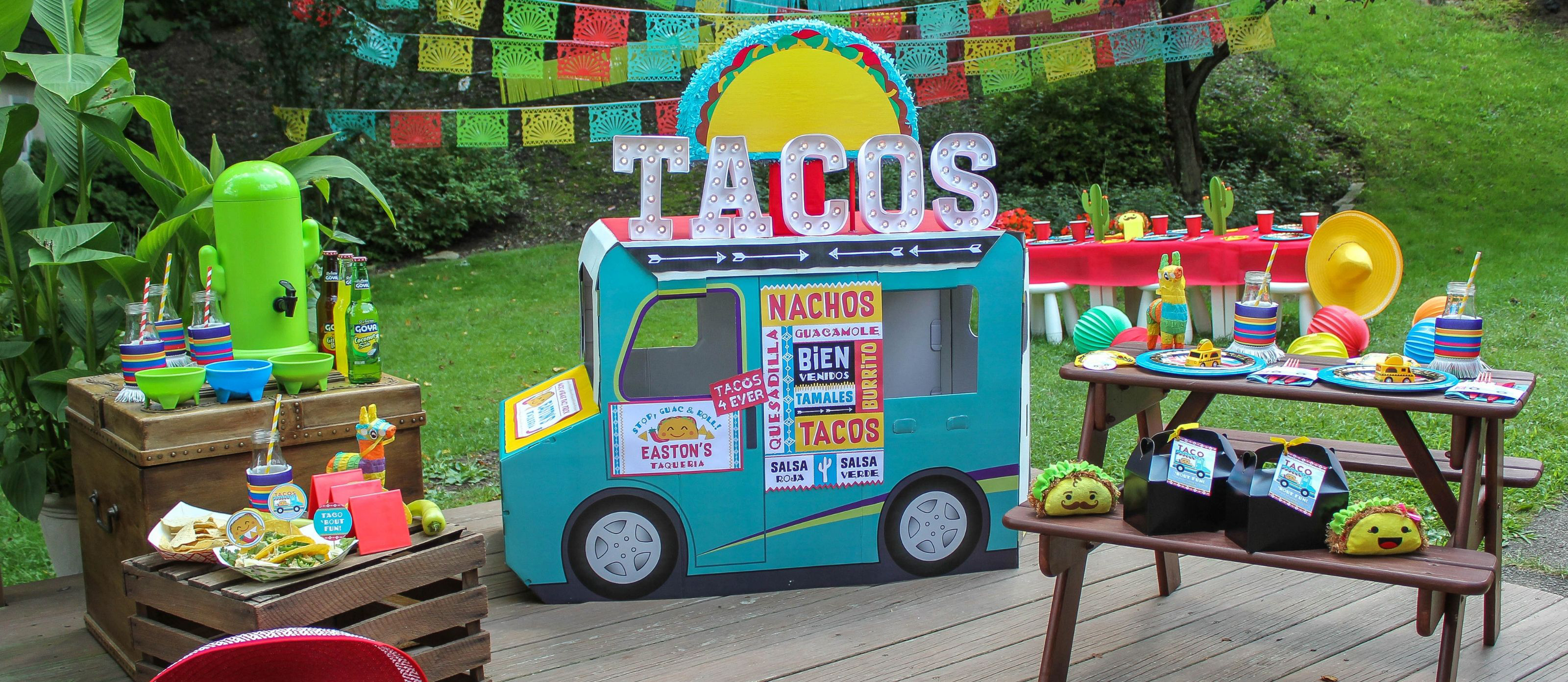 Taco Truck Kids Birthday Party Fun365