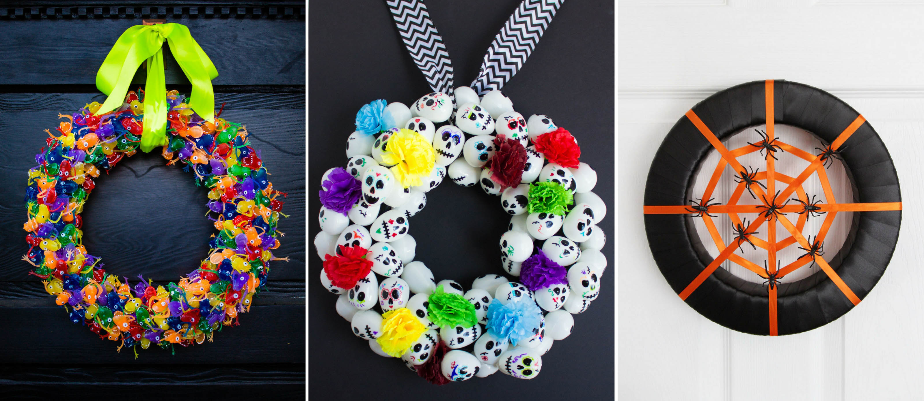 15 DIY Halloween Wreath Ideas