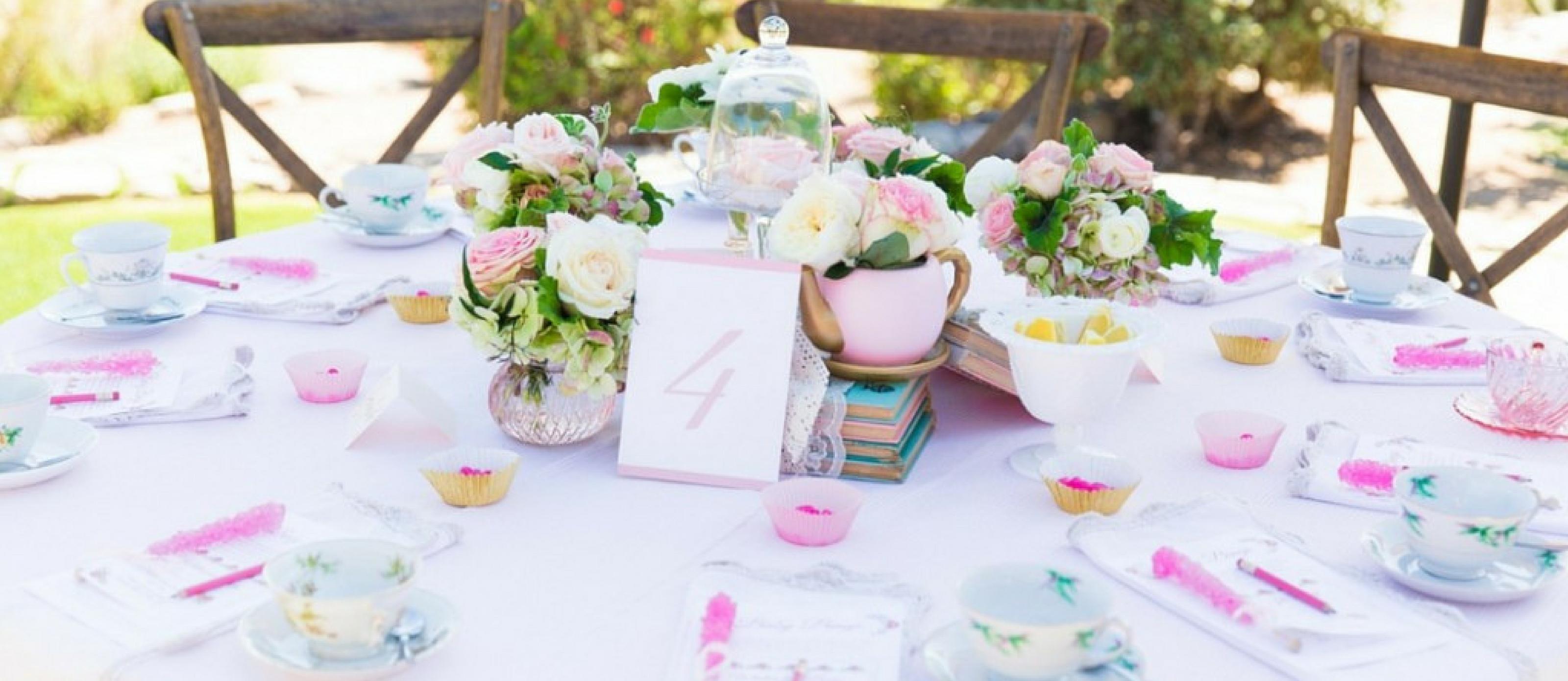A Beautiful Tea Party Baby Shower Fun365