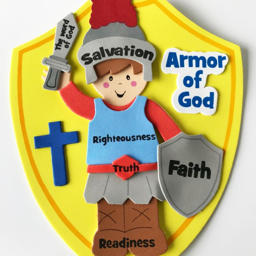 Armor Of God Bible Sunday School Lesson Plans Fun365