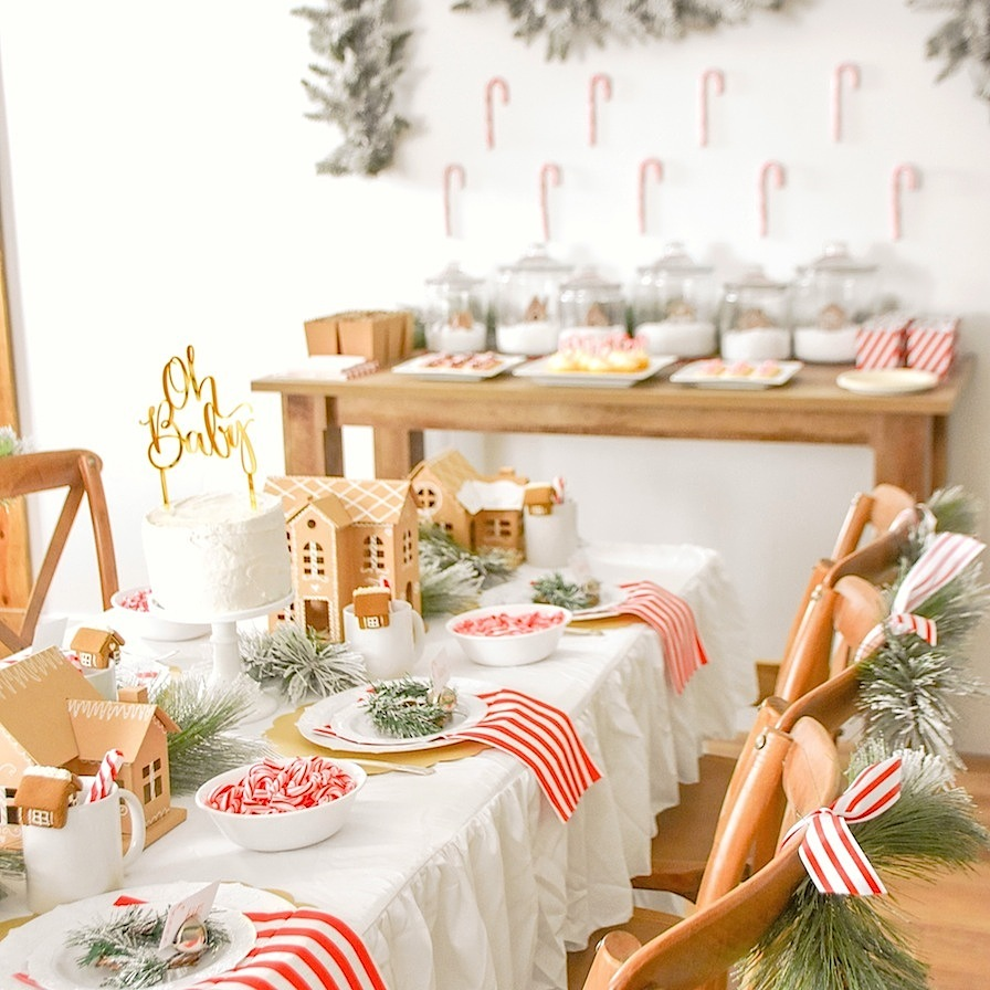 Peppermint Peppermint Party Napkins Peppermint Decoration- Green Napkins -Mint Table Ombre Linens Peppermint Party Ombre Napkins
