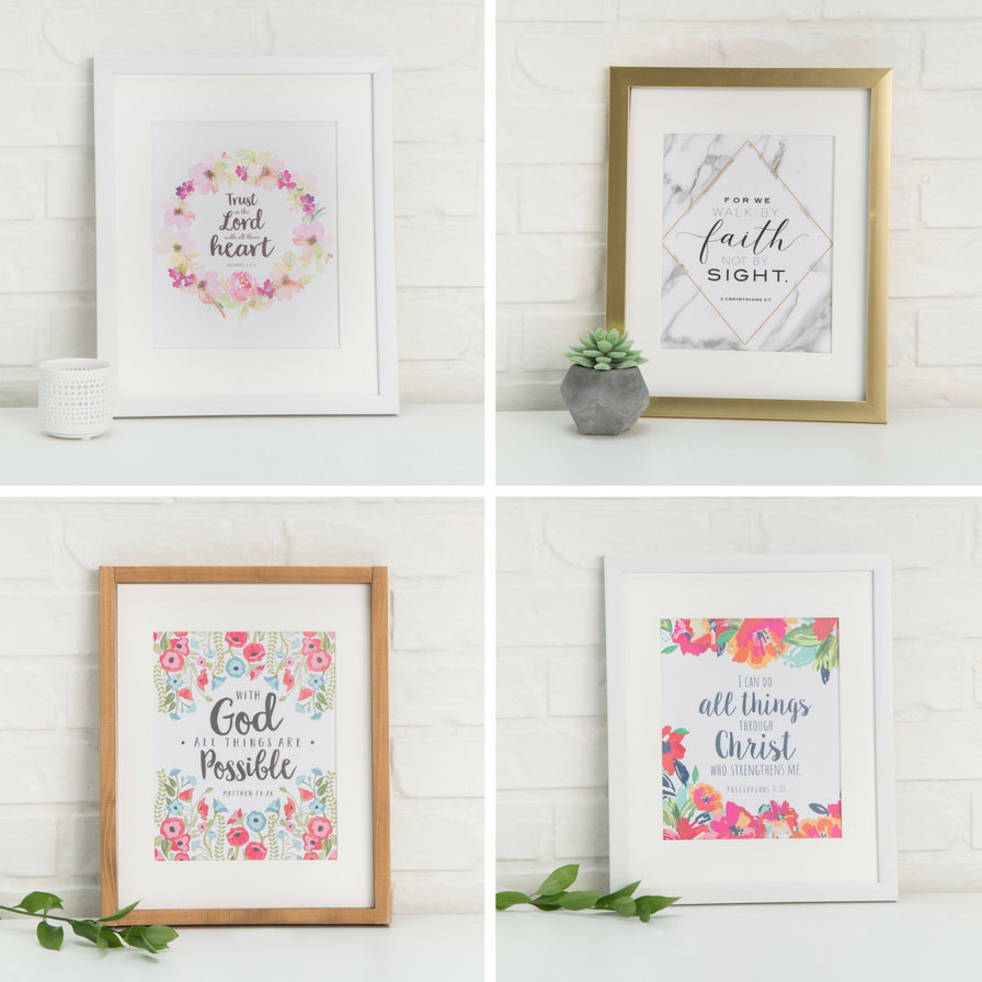 This is a graphic of Free Printable Bible Verses to Frame intended for faith coloring page