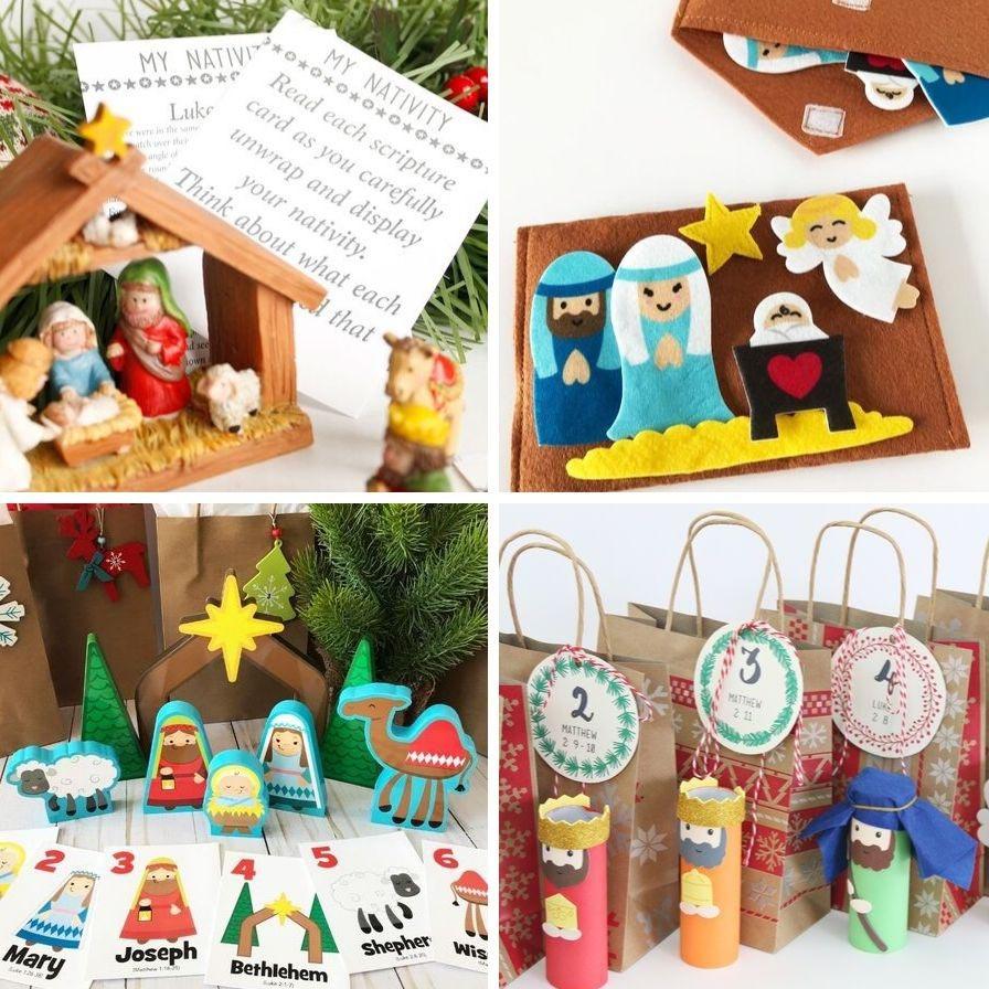 7 Simple Nativity Craft Ideas For Kids Fun365
