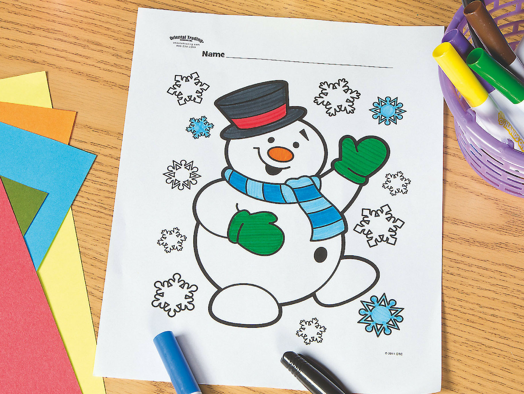 Happy Snowman coloring page | Free Printable Coloring Pages | 1371x1824