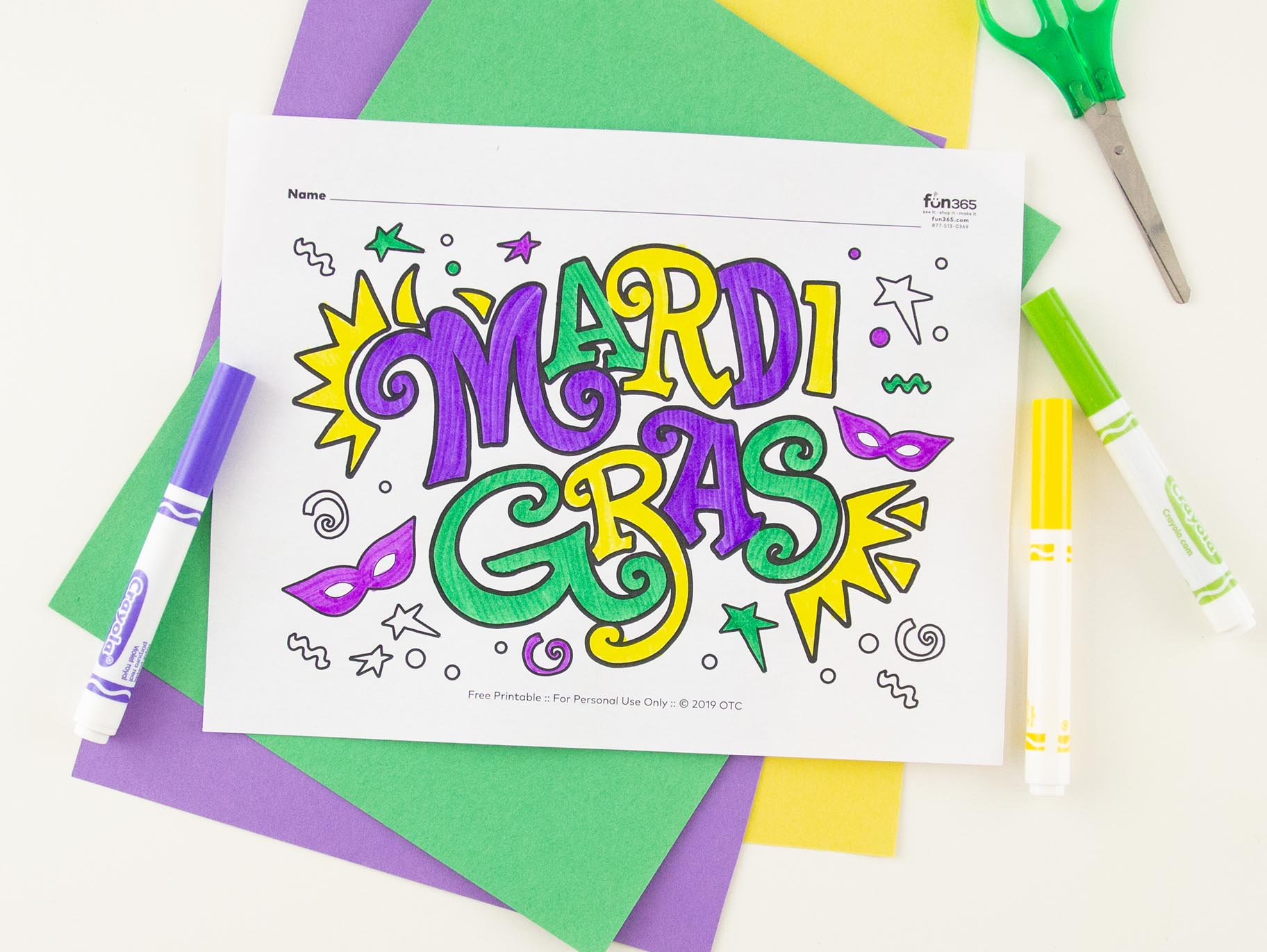 Mardi Gras Coloring Pages Free to Print | Mardi gras, Coloring ... | 1371x1824