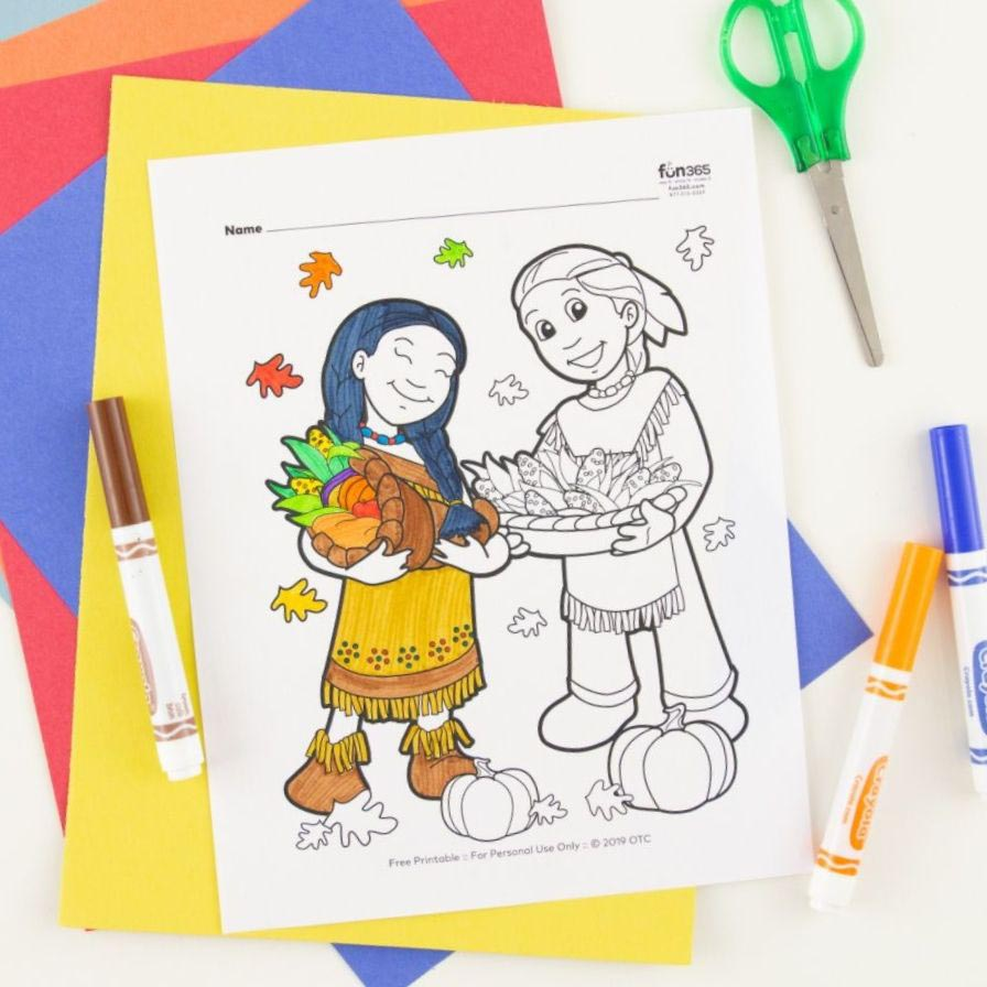 Free Cherokee Indian Coloring Pages, Download Free Clip Art, Free ... | 896x896