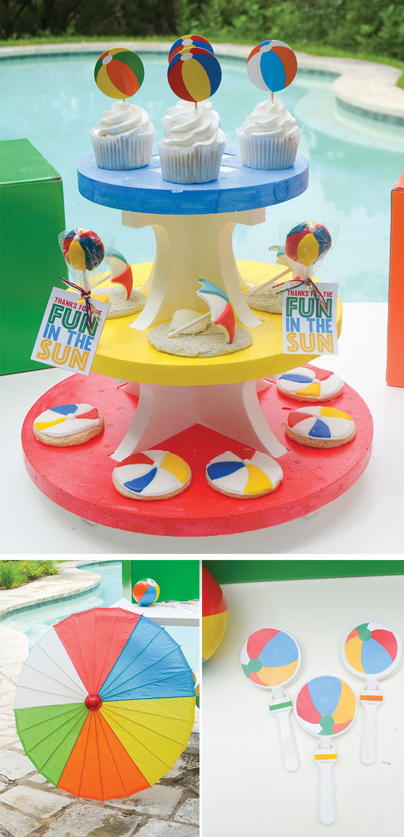 Beach Ball Party By Lindi Haws Of Love The Day Fun365