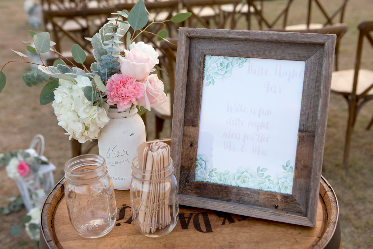 Create A Date Night Jar Station At Your Wedding Fun365