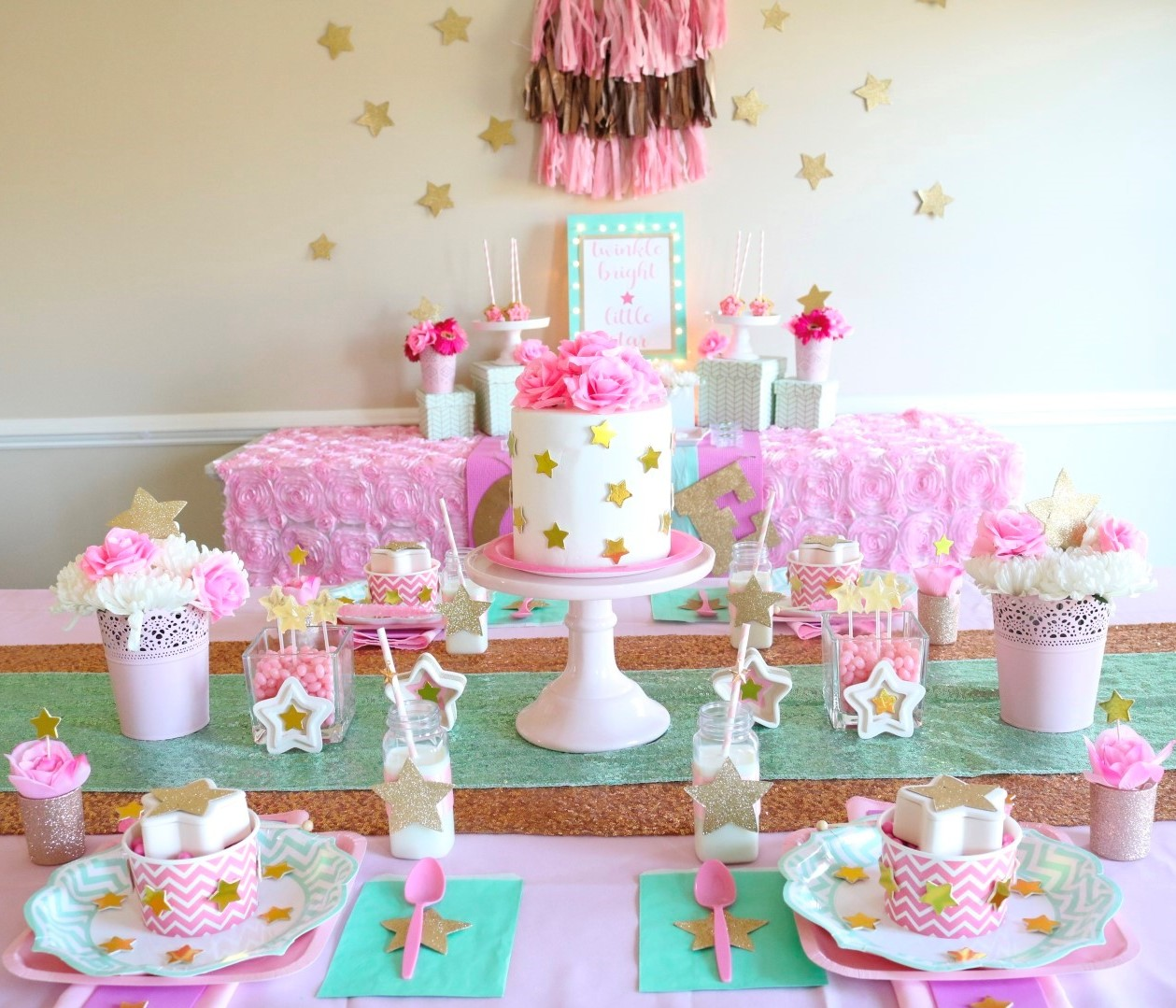 Star-Themed First Birthday Party  Fun12