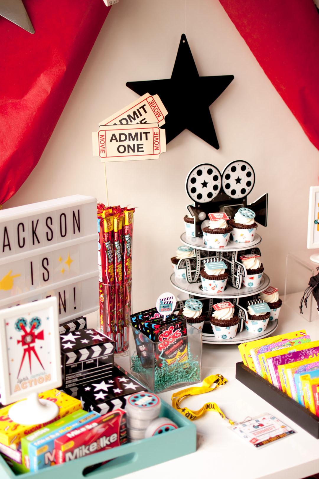 Movie Theater Birthday Party Ideas Fun365
