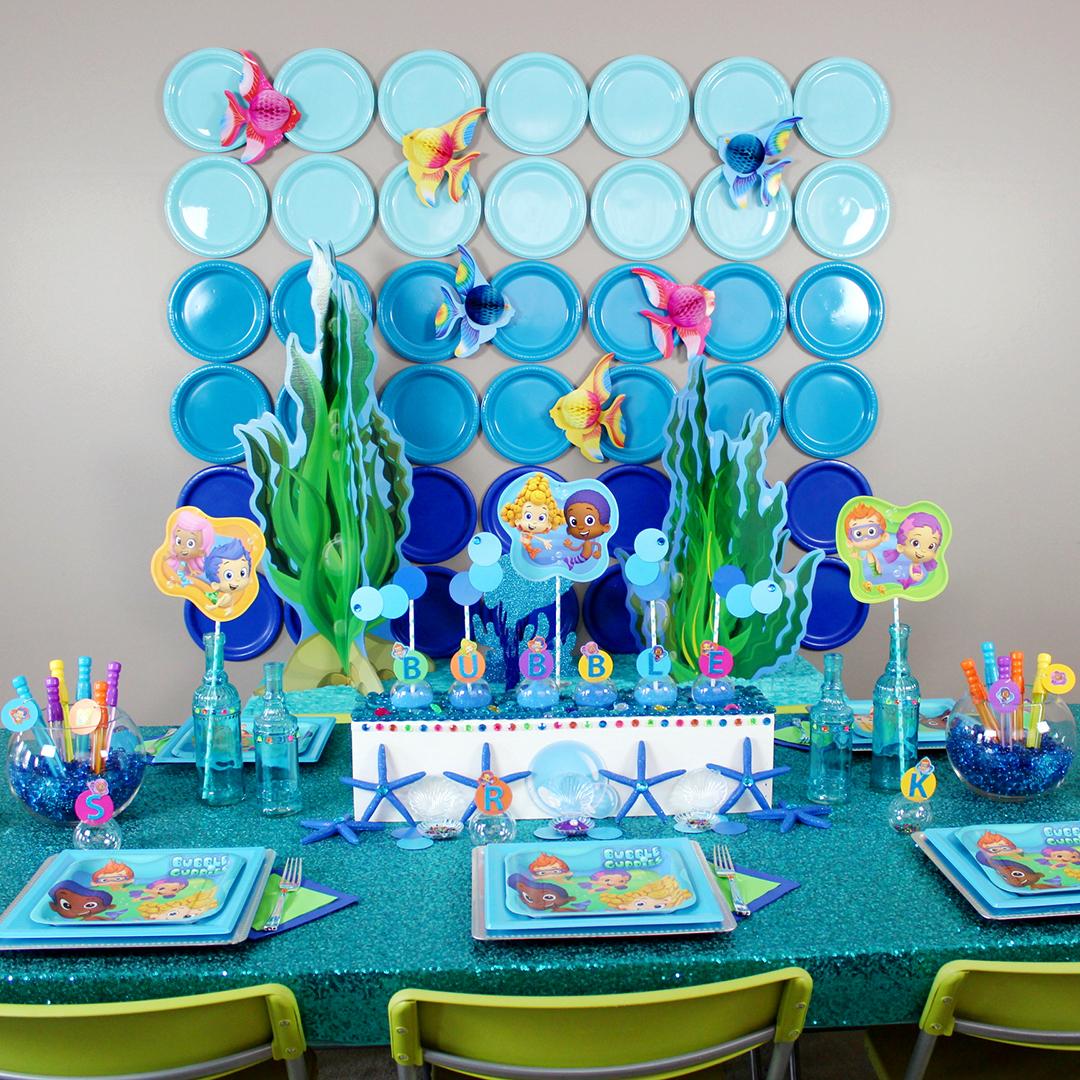 Kara S Party Ideas Bubble Guppies Birthday Party Kara S Party Ideas