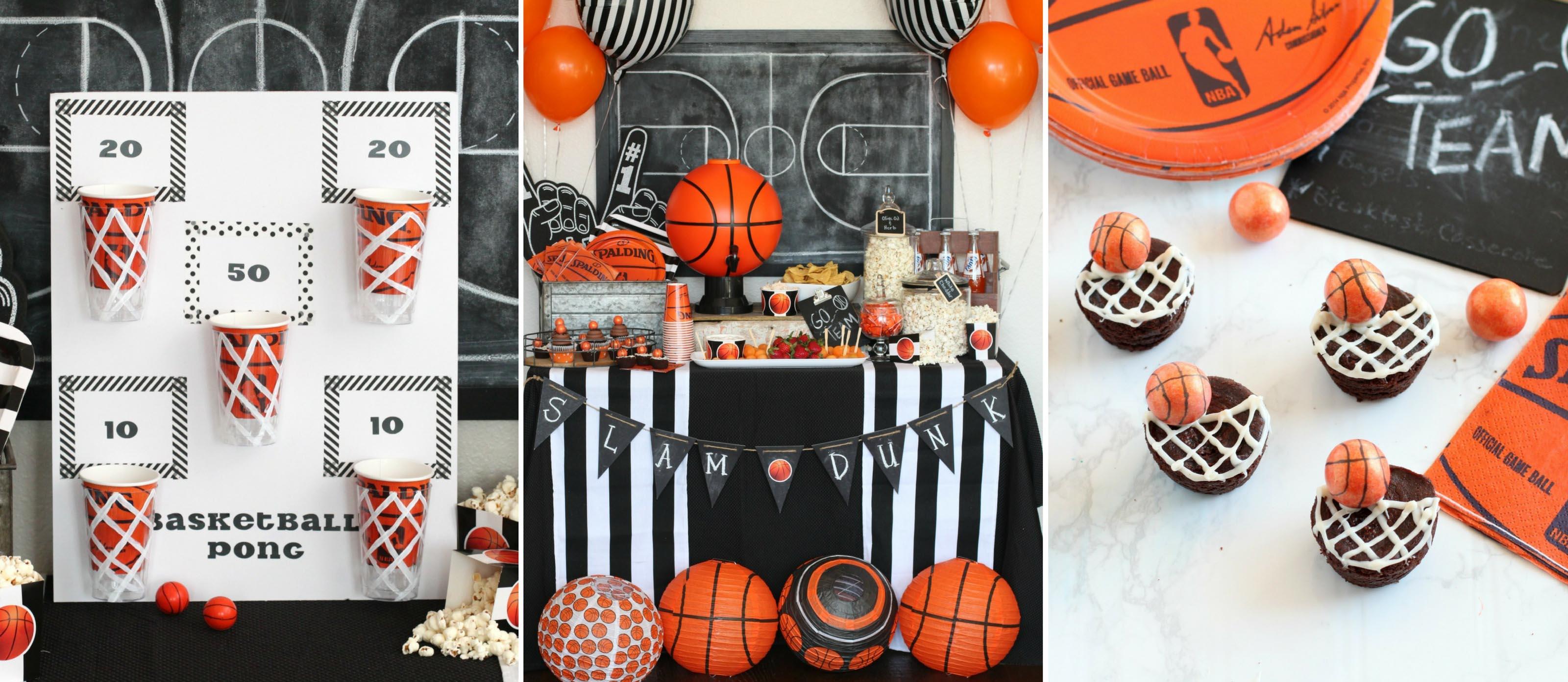 Shop It Basketball Themed Party Ideas Fun365