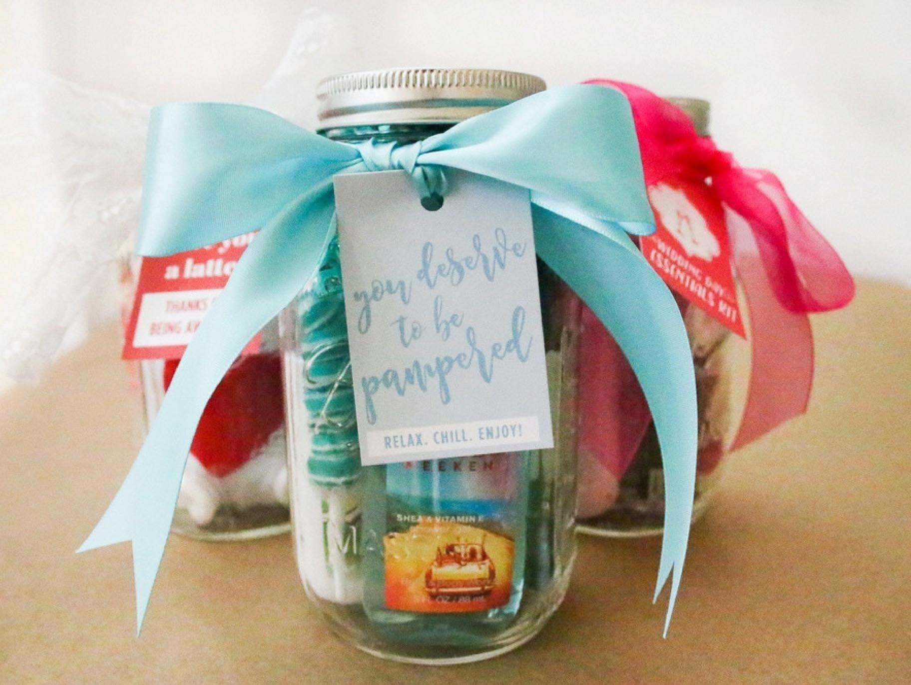 3 mason jar gift ideas for your bridesmaids hero