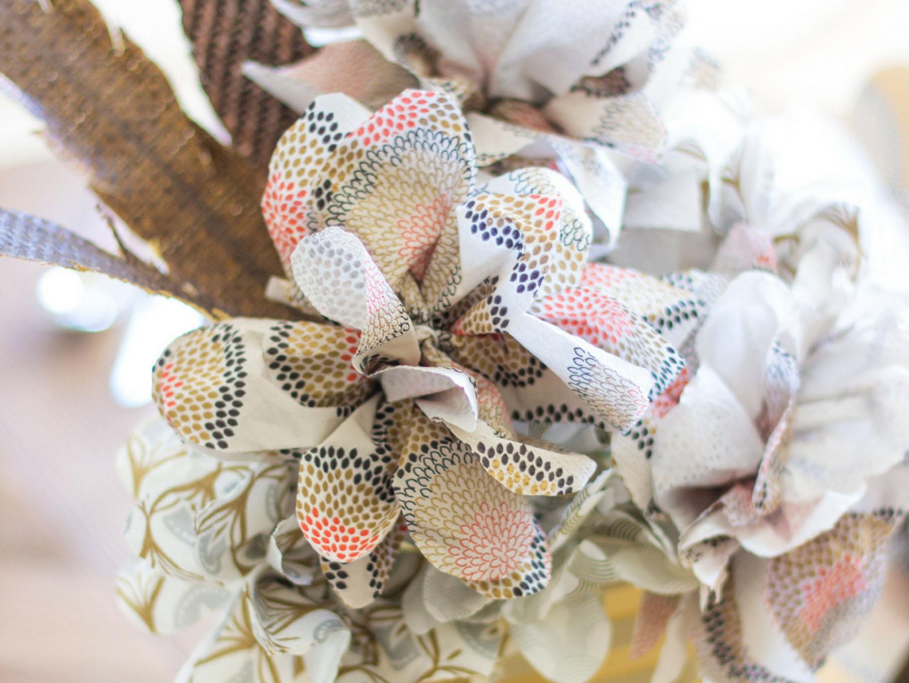 How To Make Paper Napkin Flowers Fun365