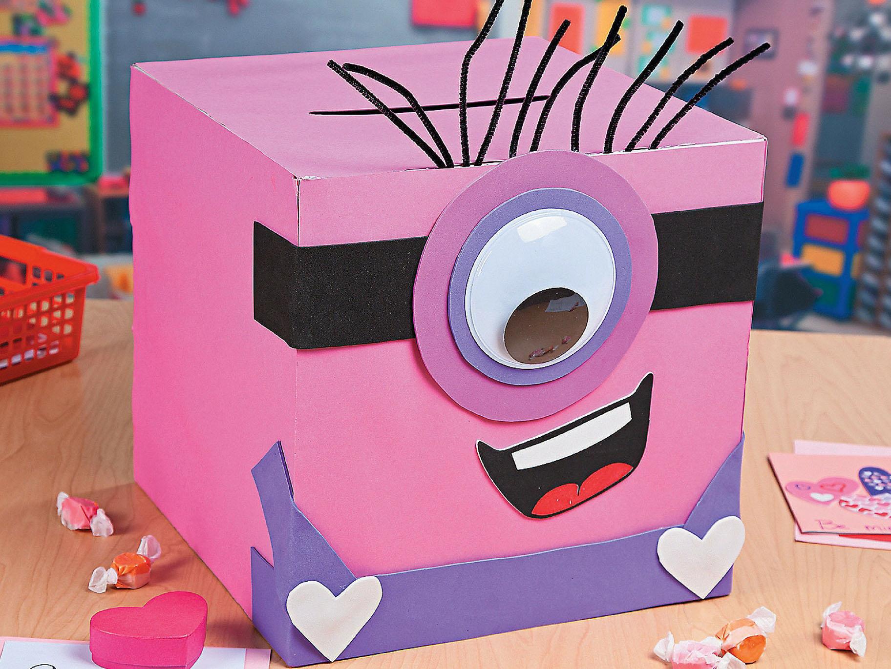 Valentine Minion Exchange Box Idea Fun365