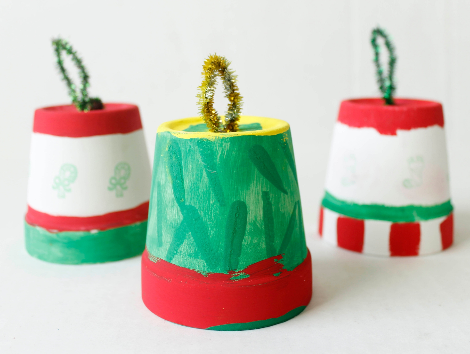 Diy Clay Pot Christmas Bells Fun365