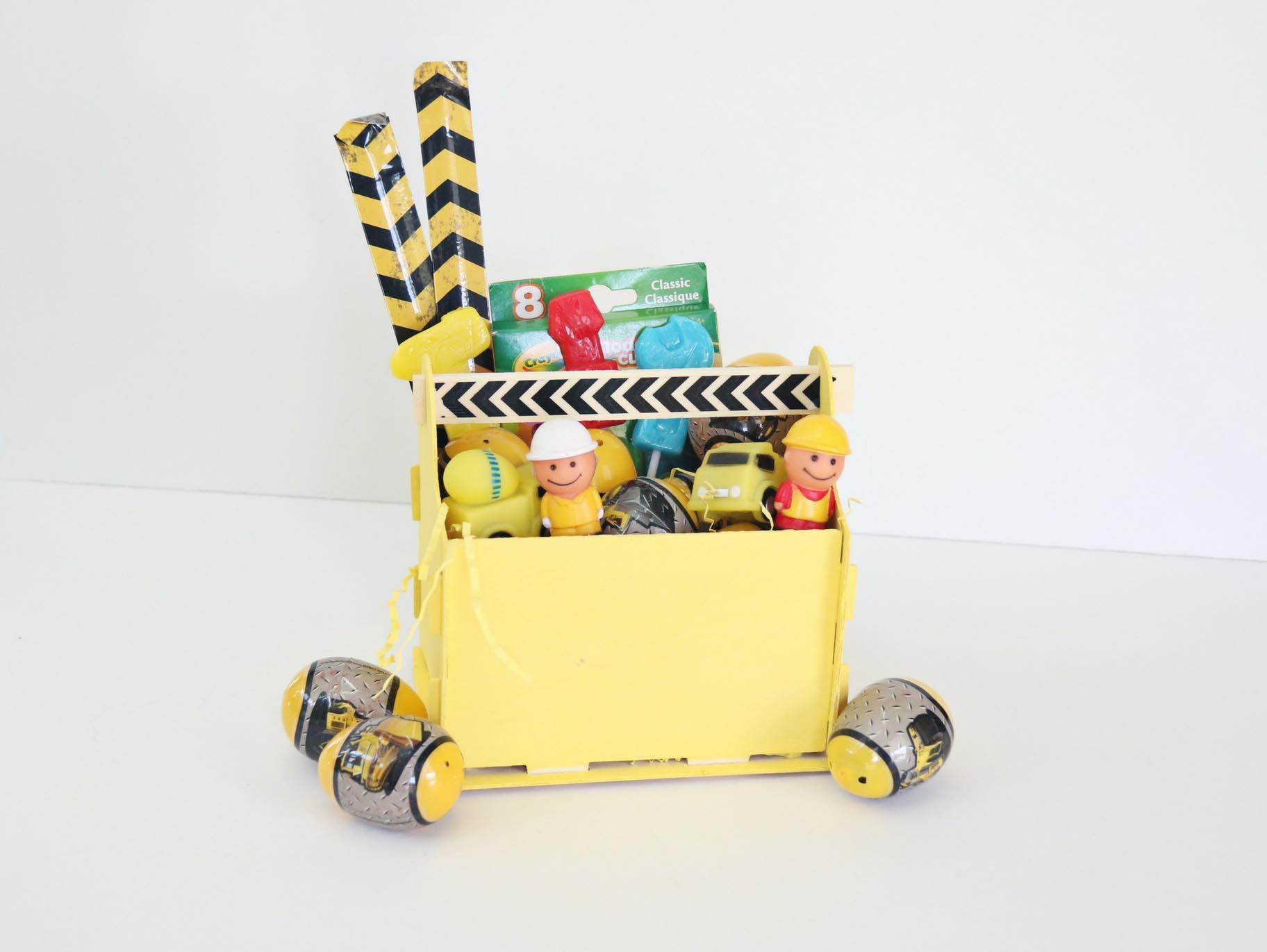 DIY Construction Tool Box Easter Basket