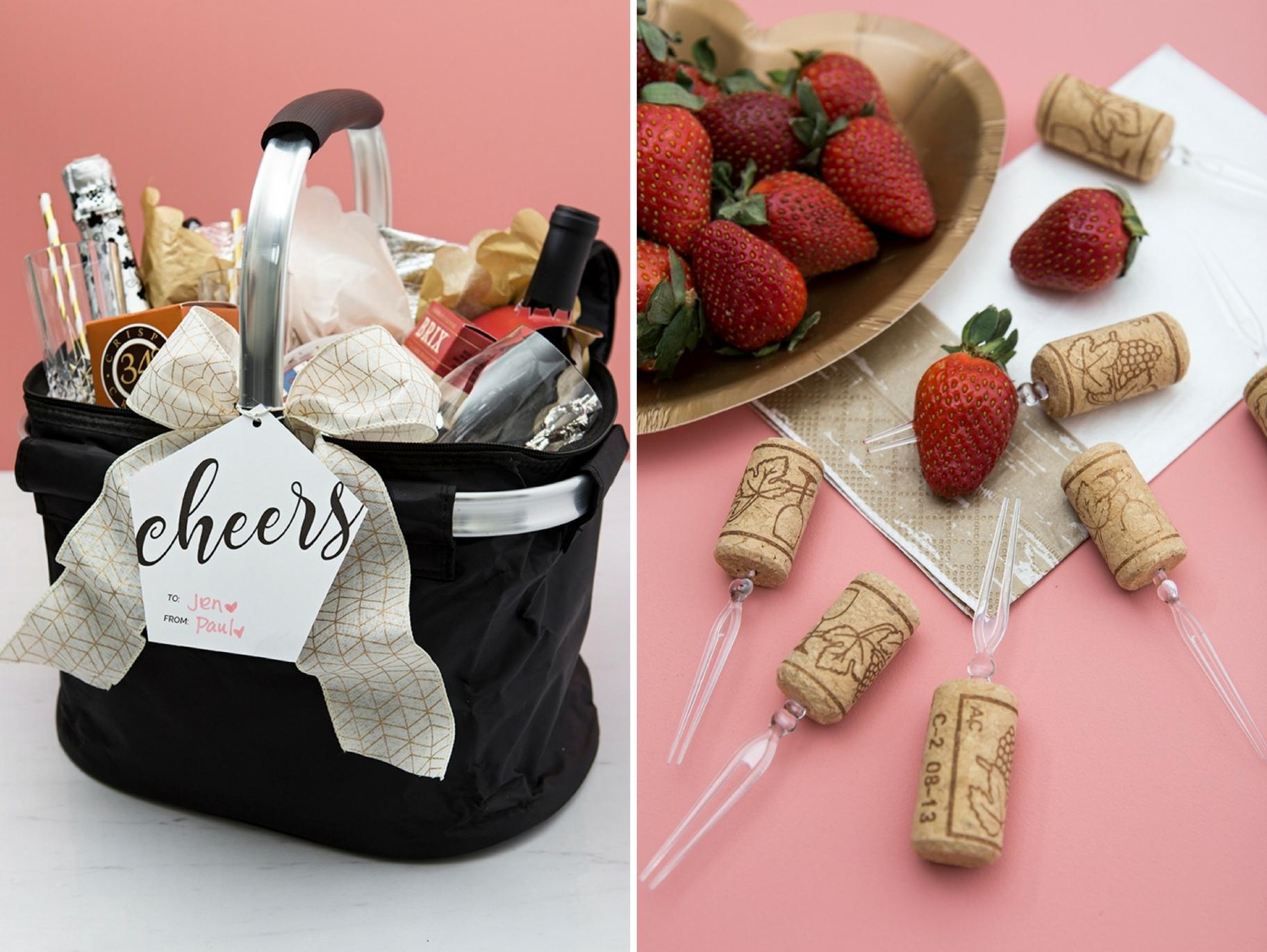 Diy Romantic Picnic Basket Gift Fun365