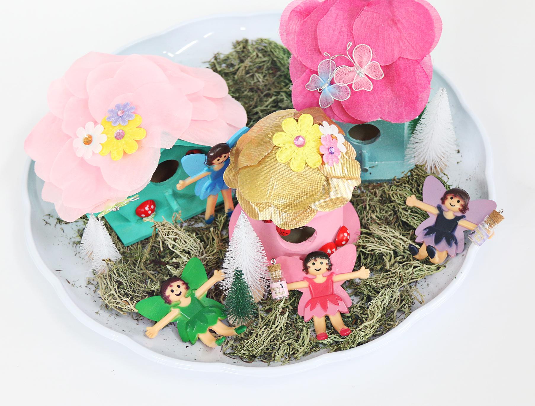 DIY Fairy Garden Kids Craft