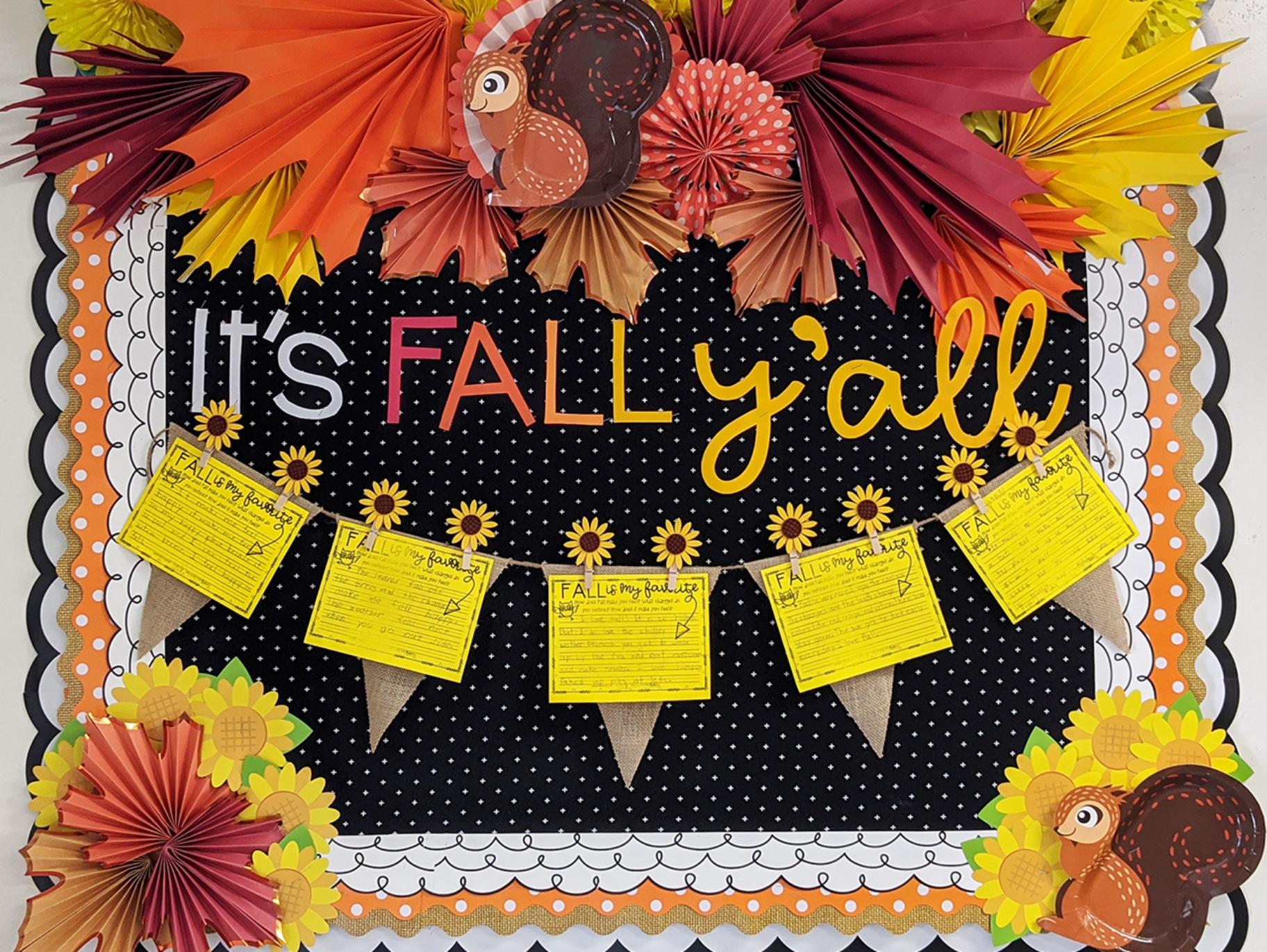 Fall Bulletin Board Ideas Fun365