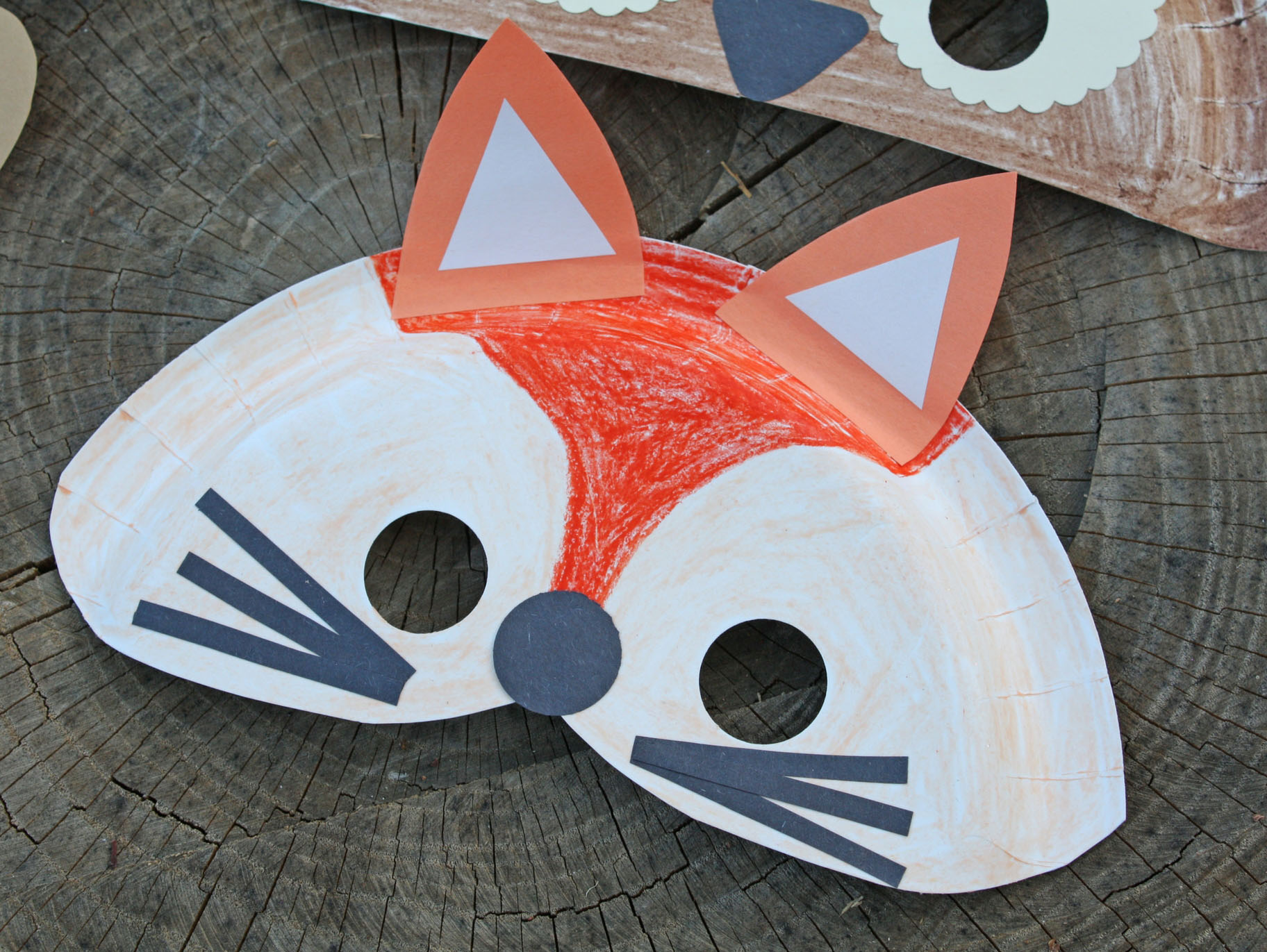 This is a picture of Printable Fox Mask inside diy