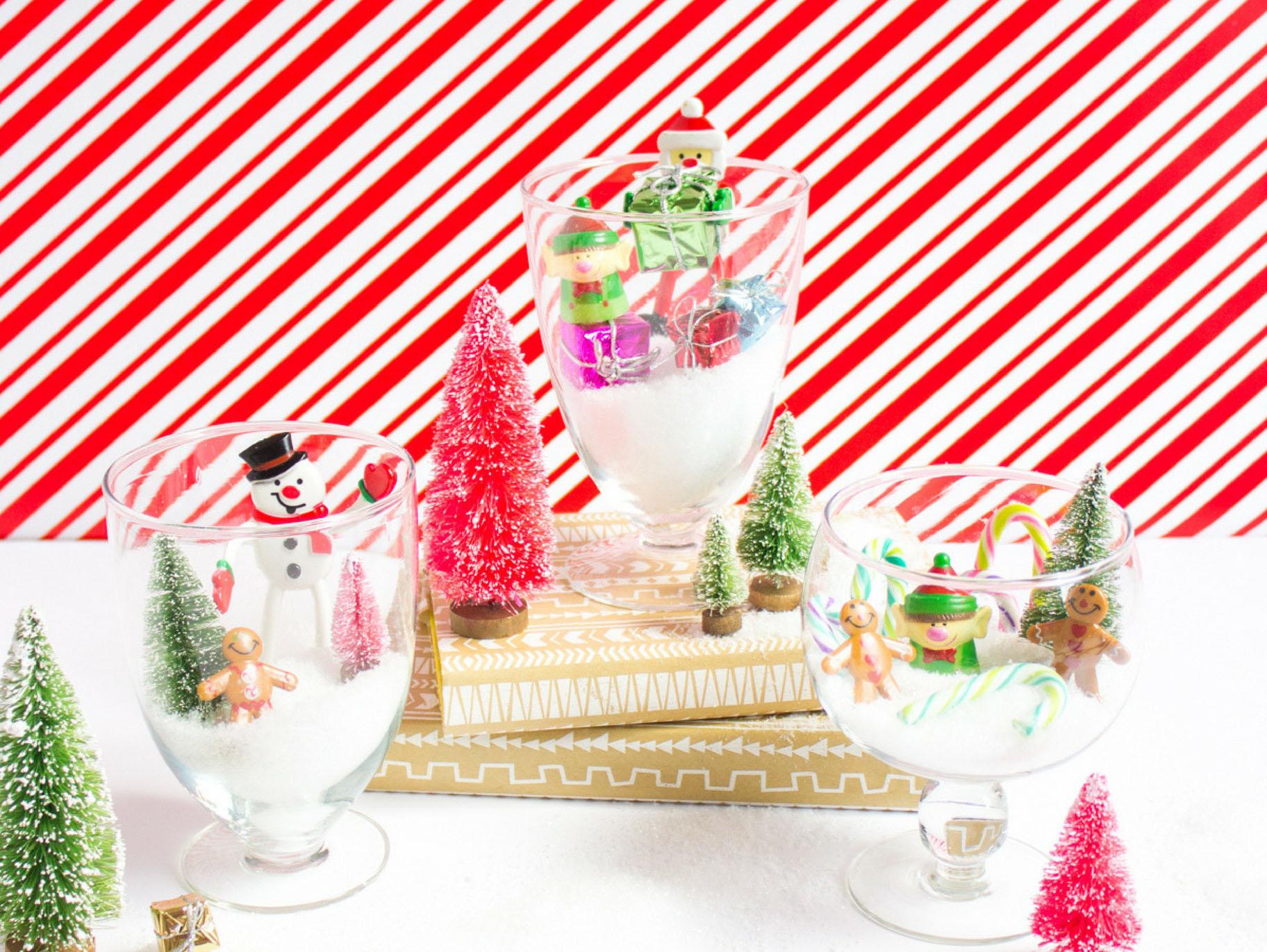 Festive Mini Christmas Terrariums Fun365