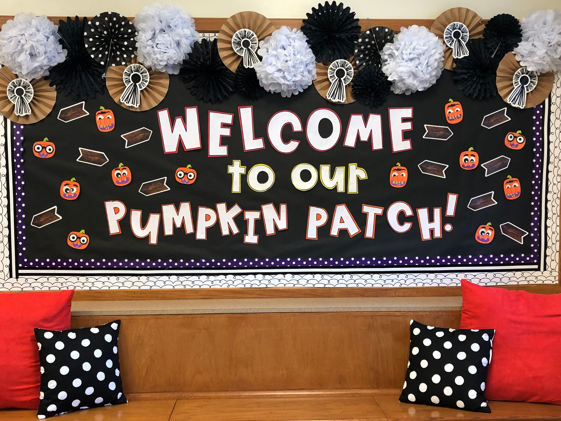 Welcome To Our Pumpkin Patch Bulletin Board Fun365