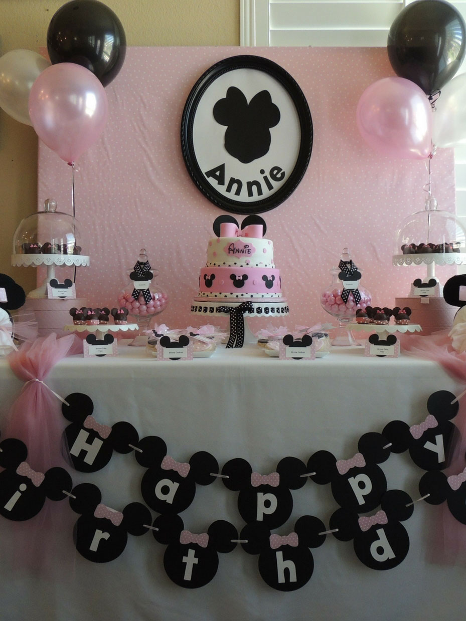Fantastic 10 Easy Minnie Mouse Party Ideas Fun365 Funny Birthday Cards Online Alyptdamsfinfo