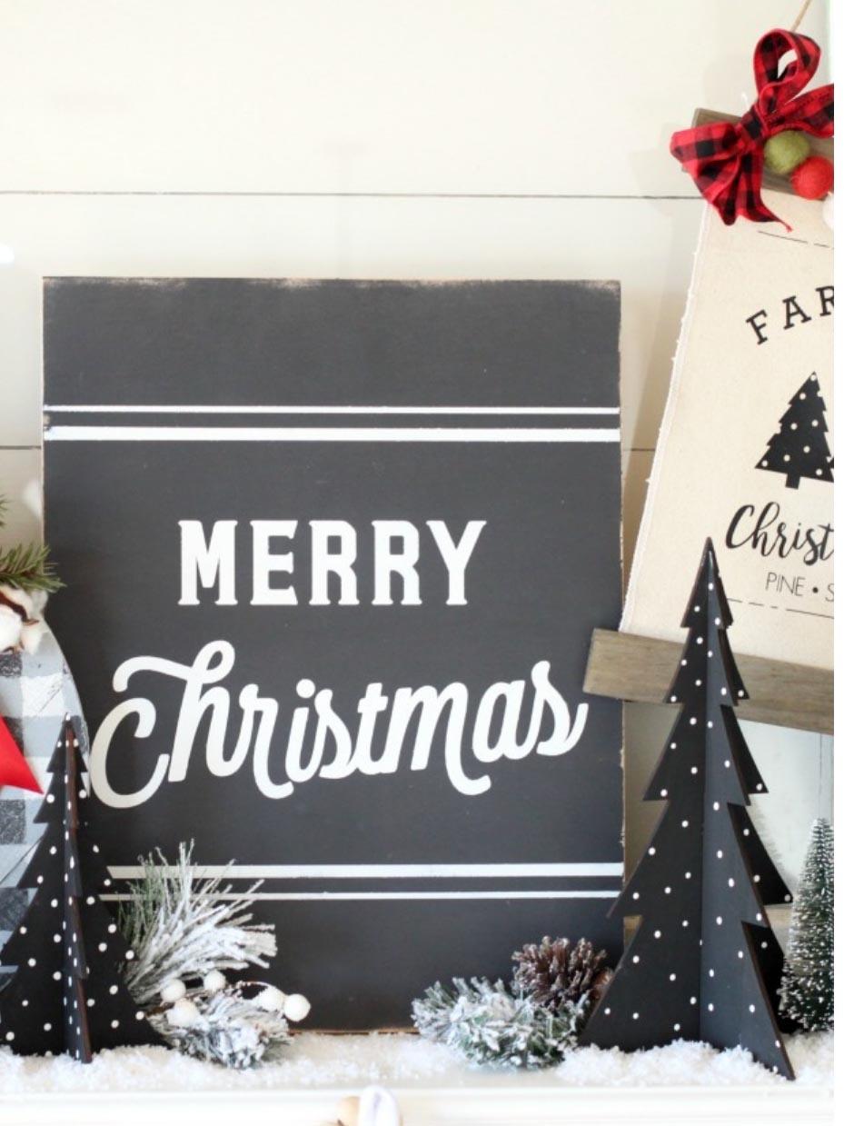 Christmas Farmhouse Decorating Ideas Joanna Gaines Would Approve Fun365
