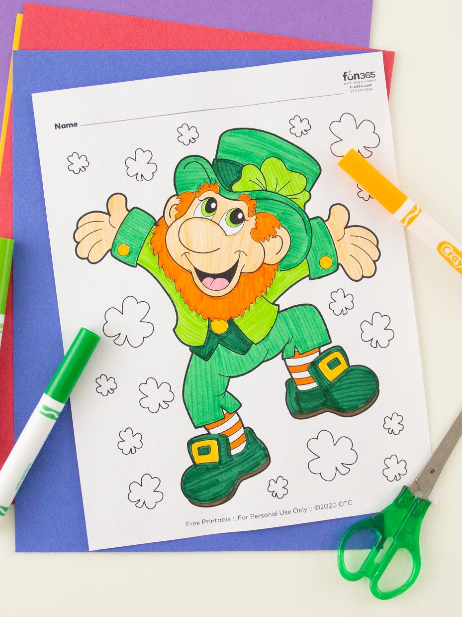 Free St Patrick S Day Coloring Pages Fun365