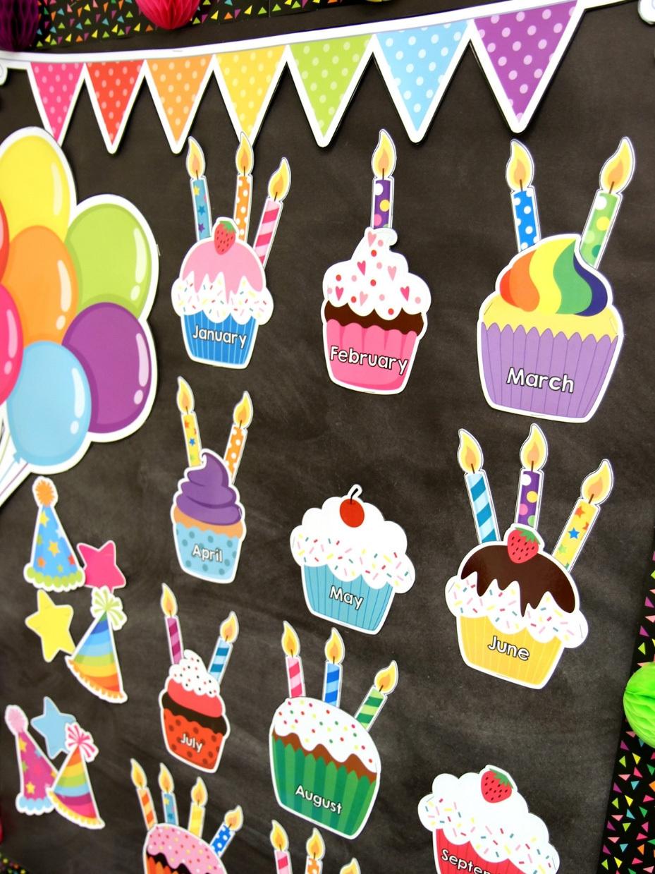 Confetti Themed Classroom Printable Pack Fun365