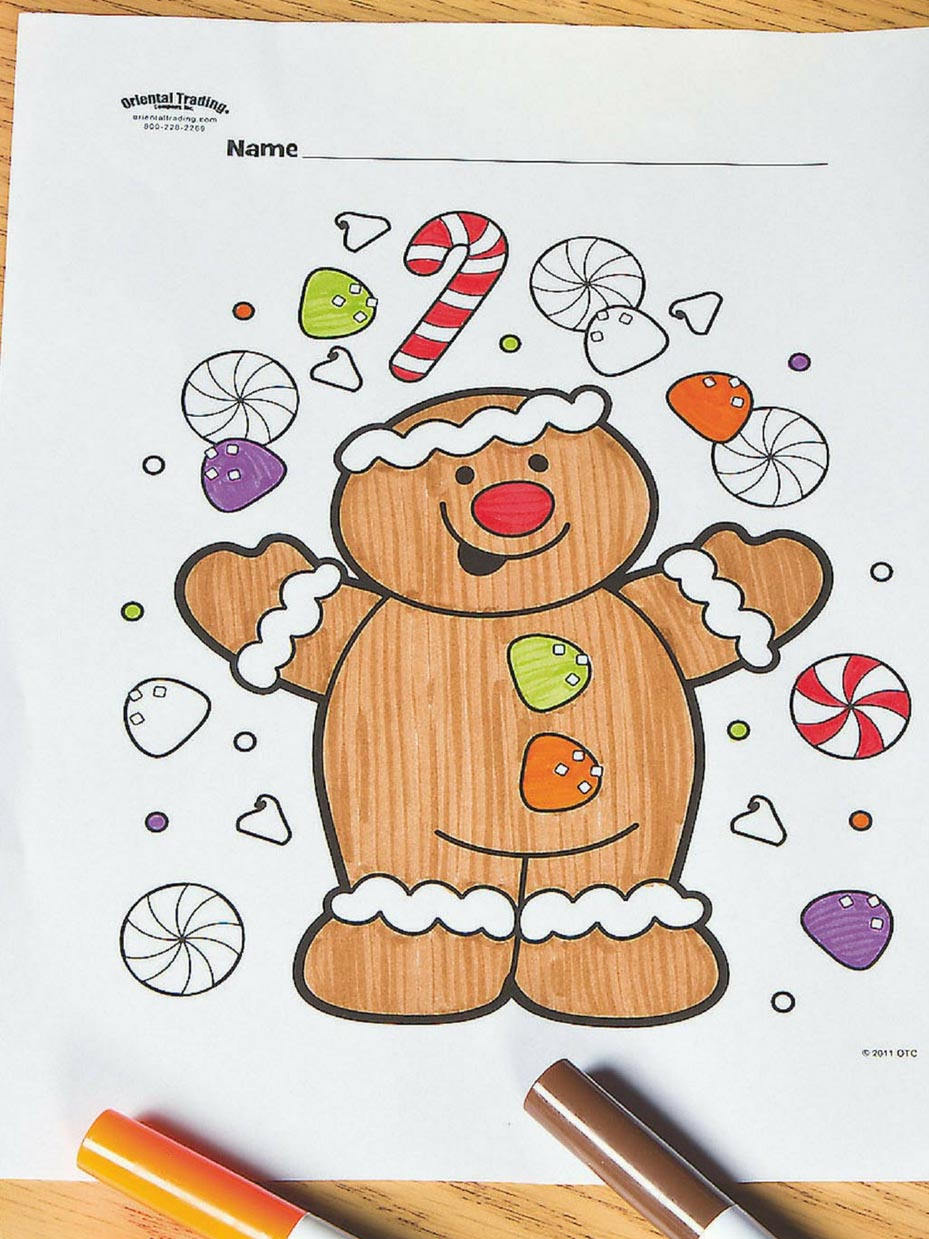 Free Printable Christmas Coloring Pages - Art Crafts & Family | 1239x929