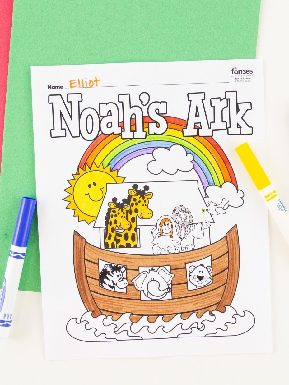 17 Free Sunday School Coloring Pages