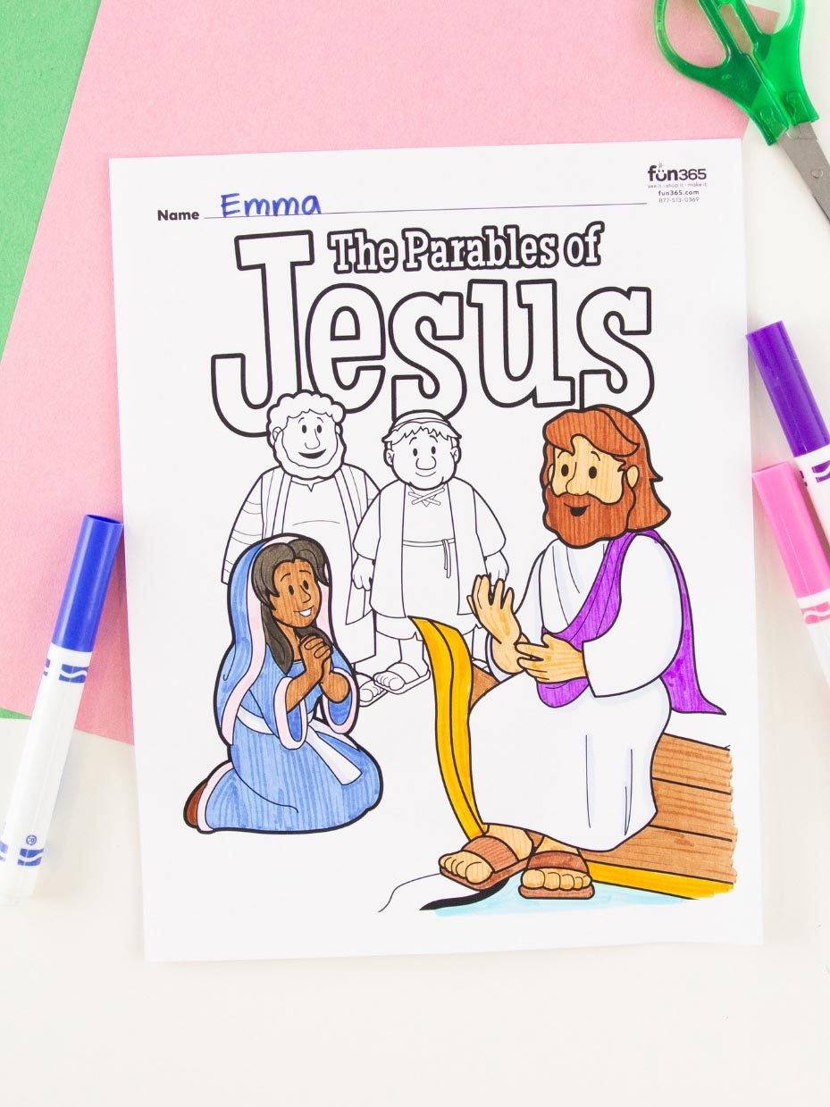 John Introduced Jesus Coloring Page   1239x929