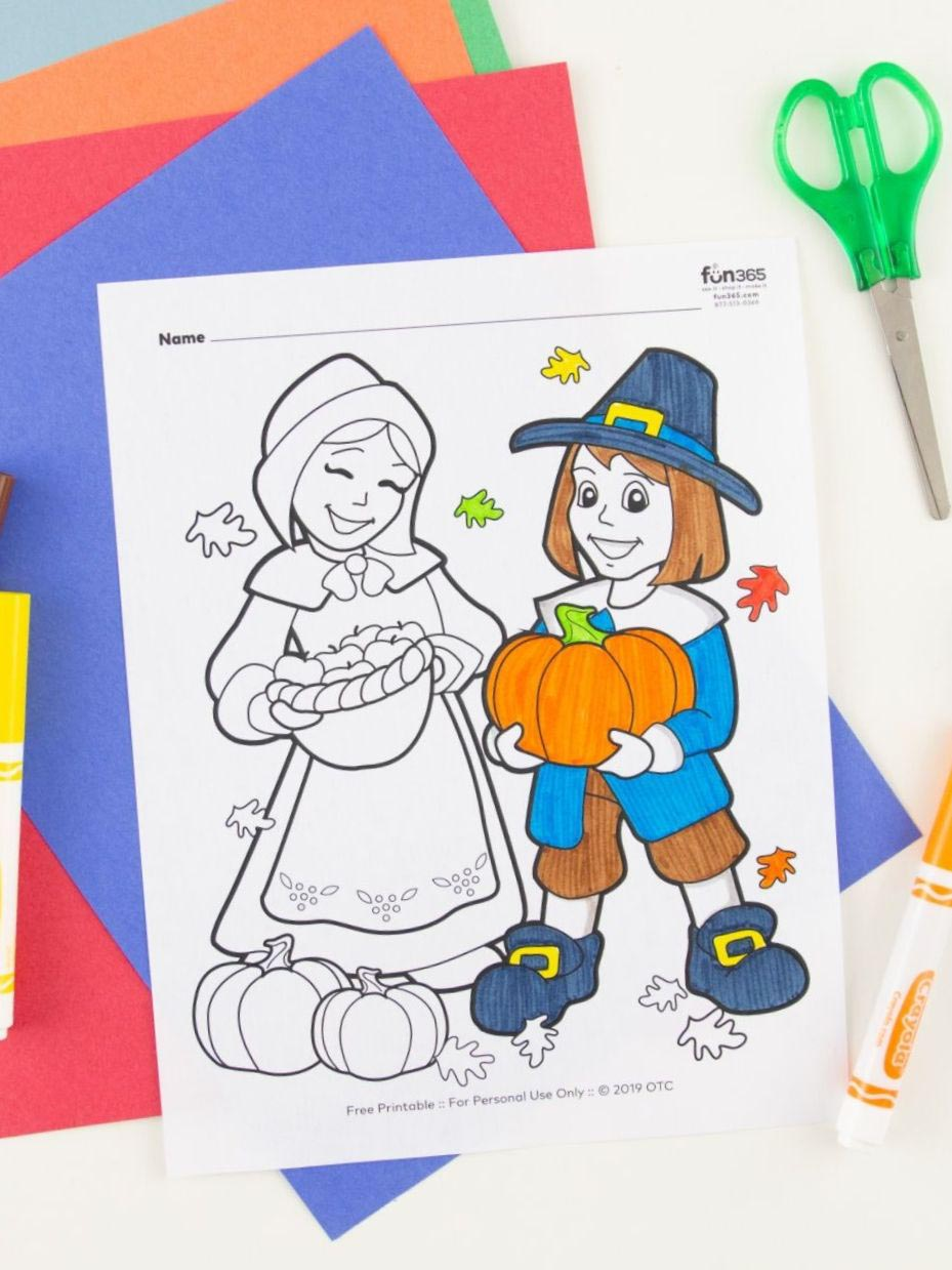 Free Christmas Coloring Pages | Fun365 | 1239x929