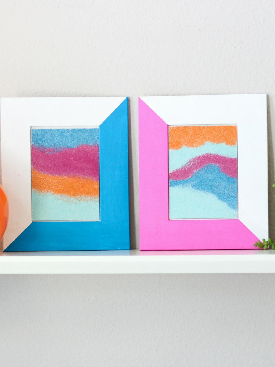 Colorful Sand Art Craft Ideas Fun365