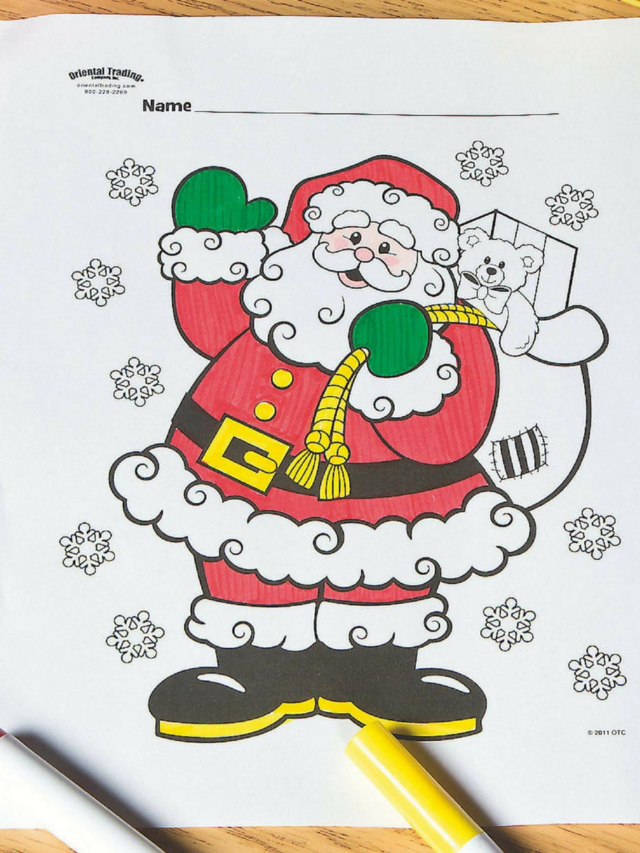 Christmas Coloring Pages | 1239x929