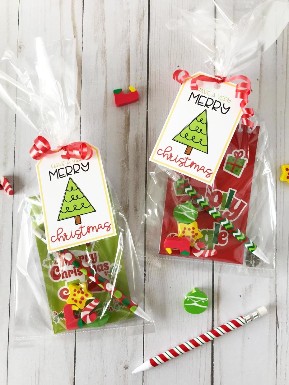 Student Christmas Gifts With Free Tags Fun365